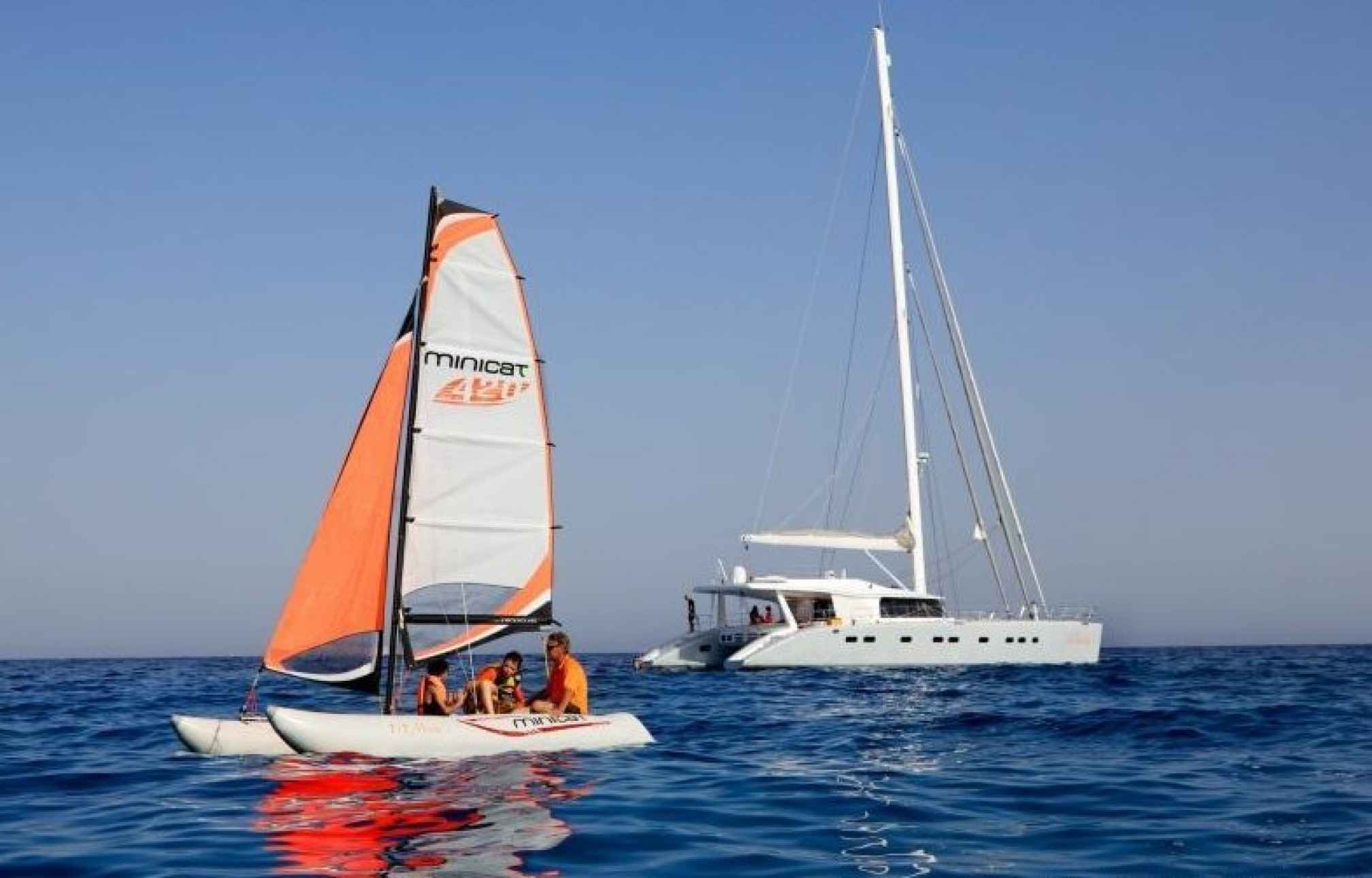 MAITA'I Luxury Catamaran Sailing