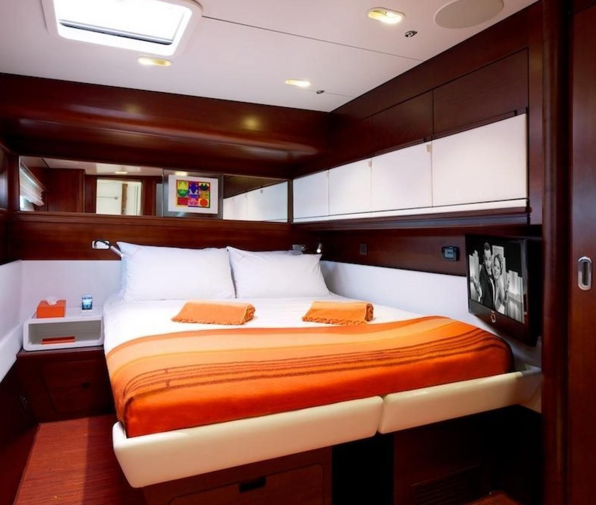 MAITA'I Luxury Catamaran Cabin