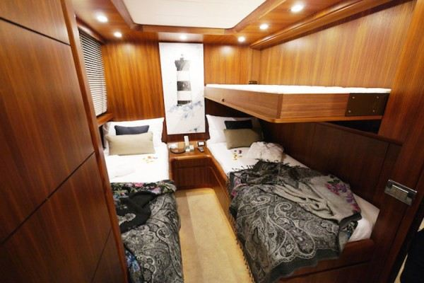 Lex yacht rent in Ibiza, cabin
