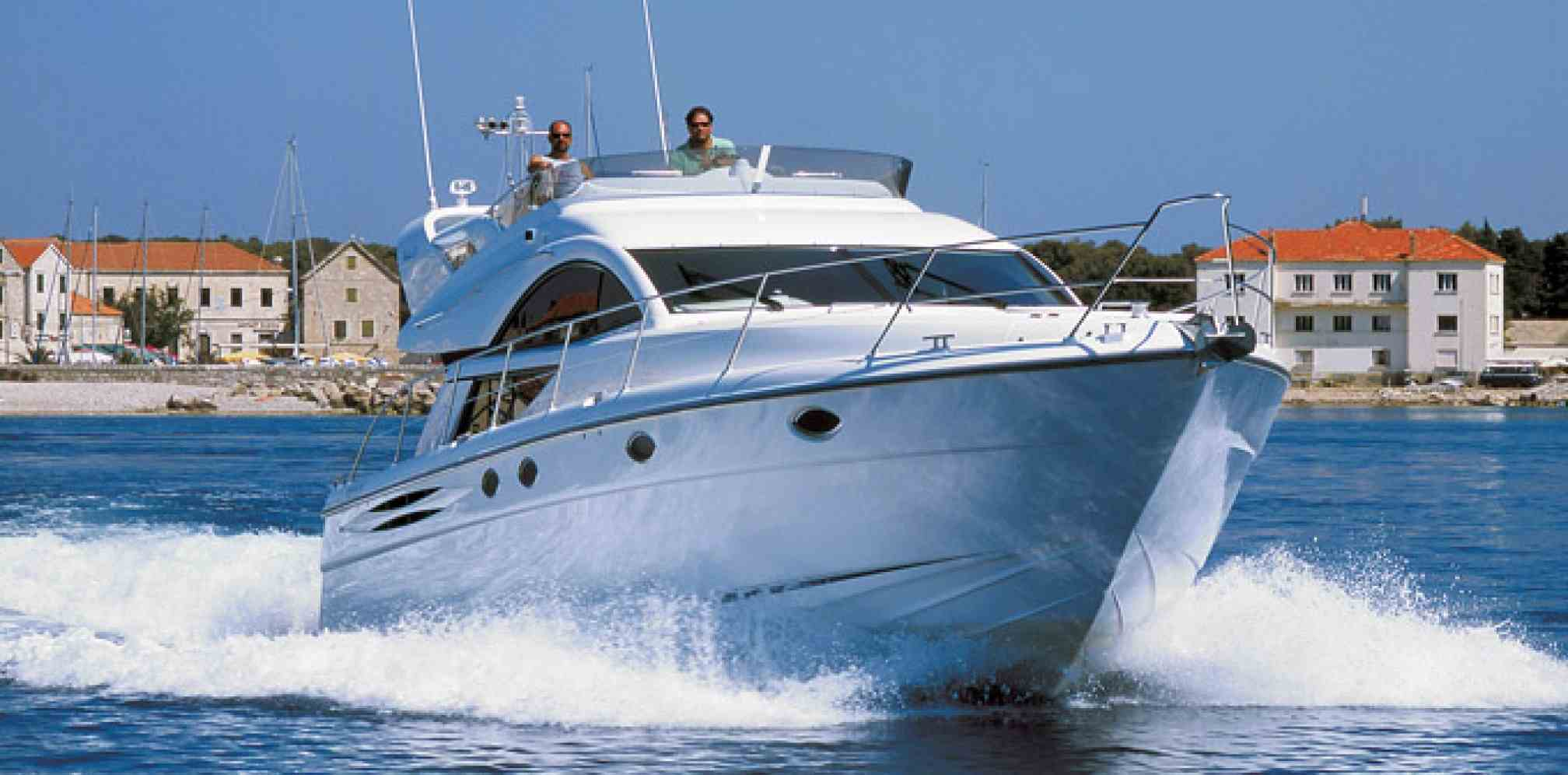 Phantom 50 motorboat charter sailing