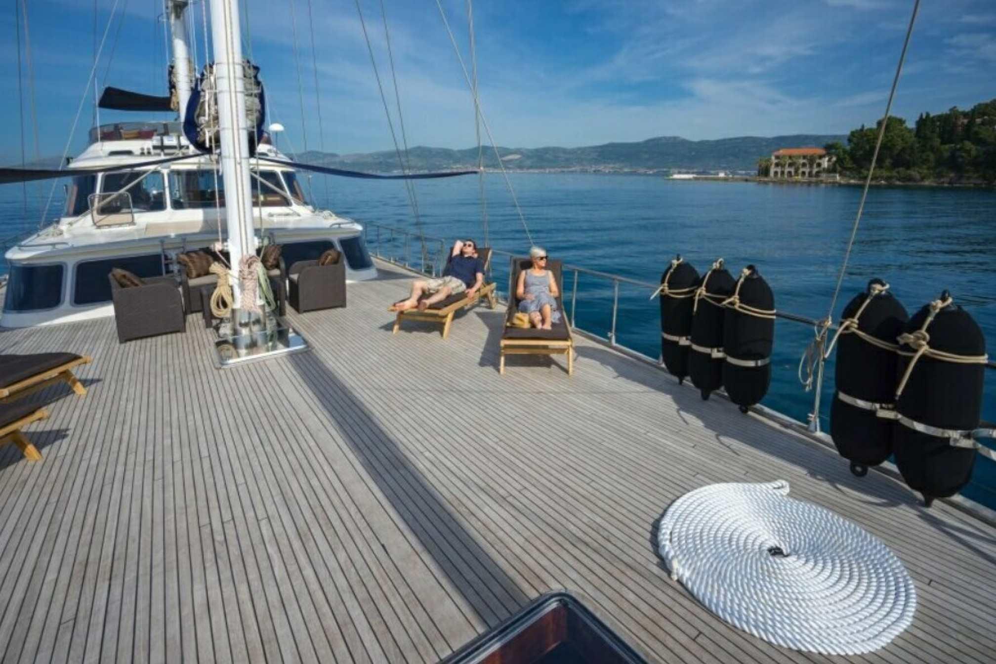 Alba Luxury Gulet Deck