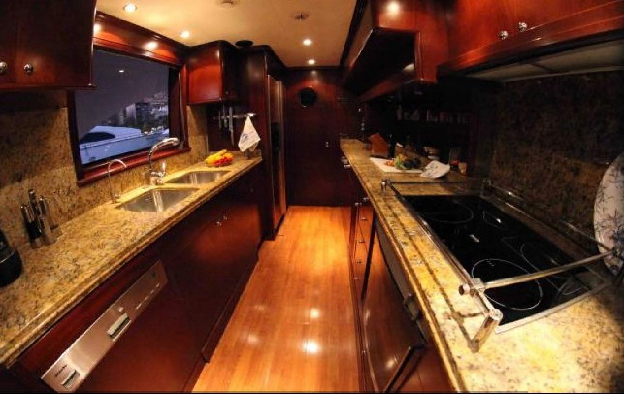 Anypa de luxe yacht kitchen