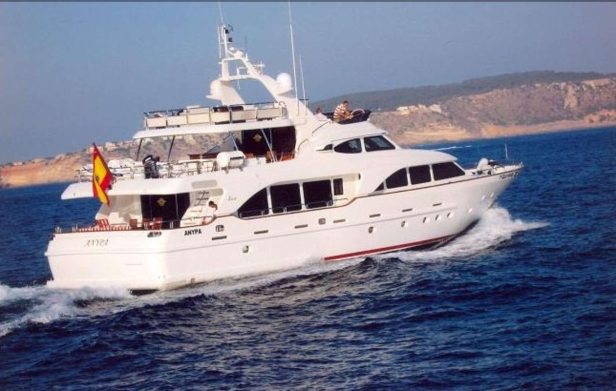 Anypa de luxe yacht sailing
