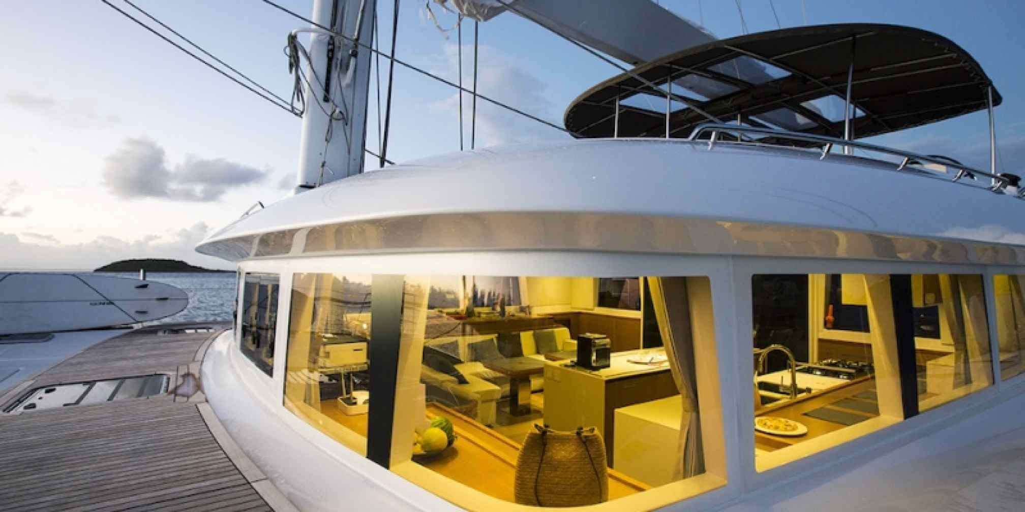 Vacoa Luxury Catamaran Sailing
