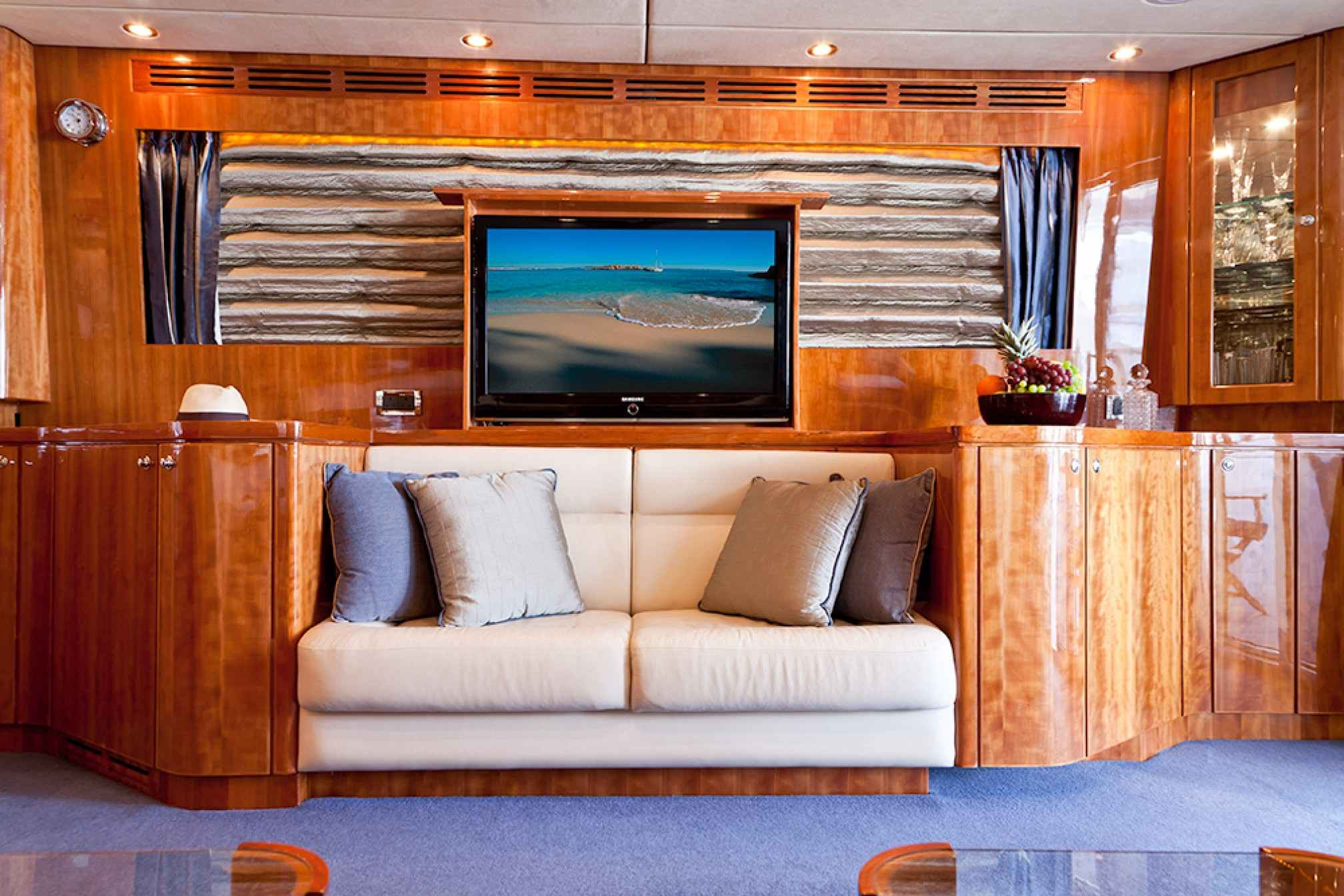 Samaric luxury yacht charter salon