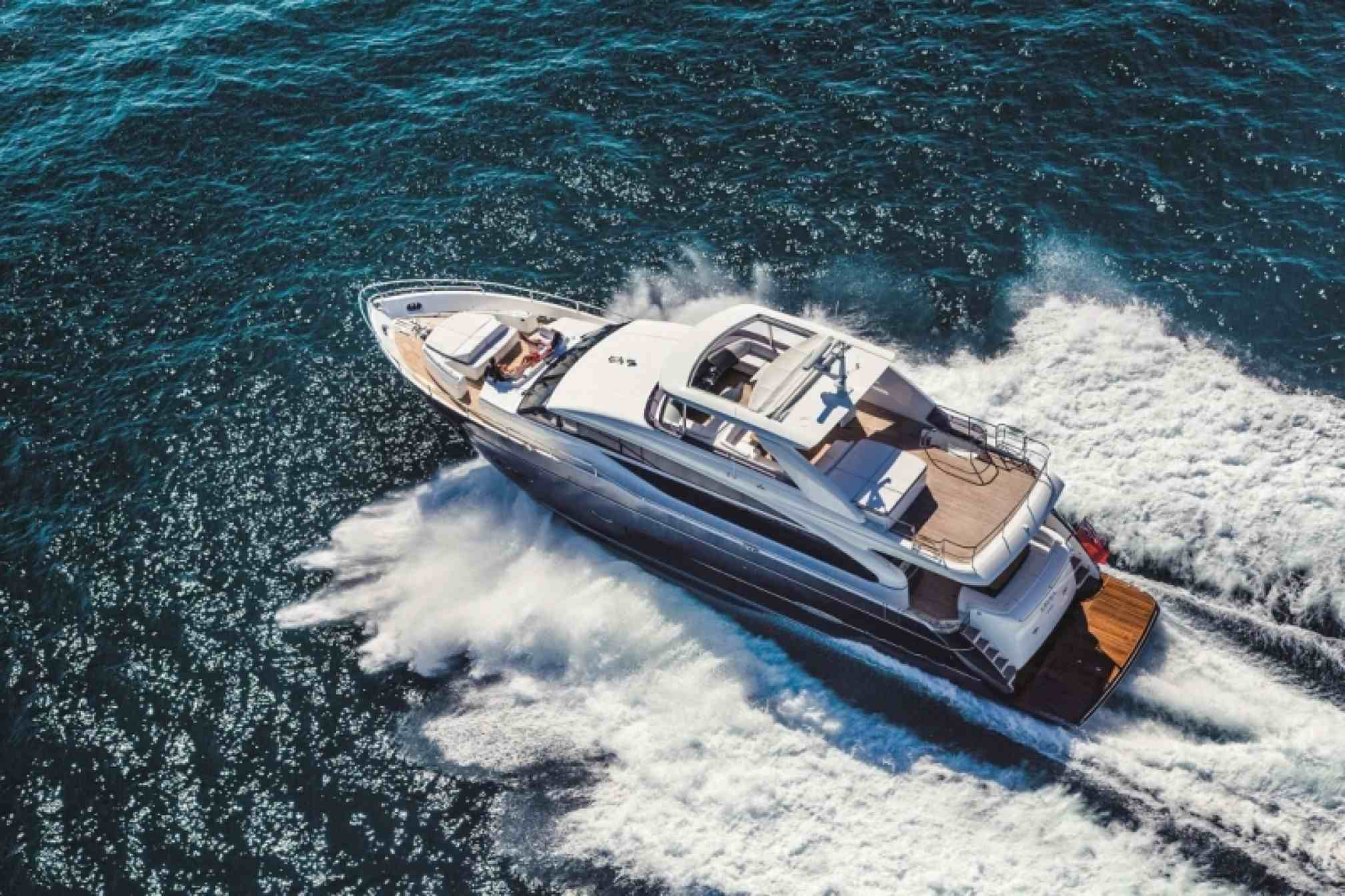 Princess 85 yacht charter sailing