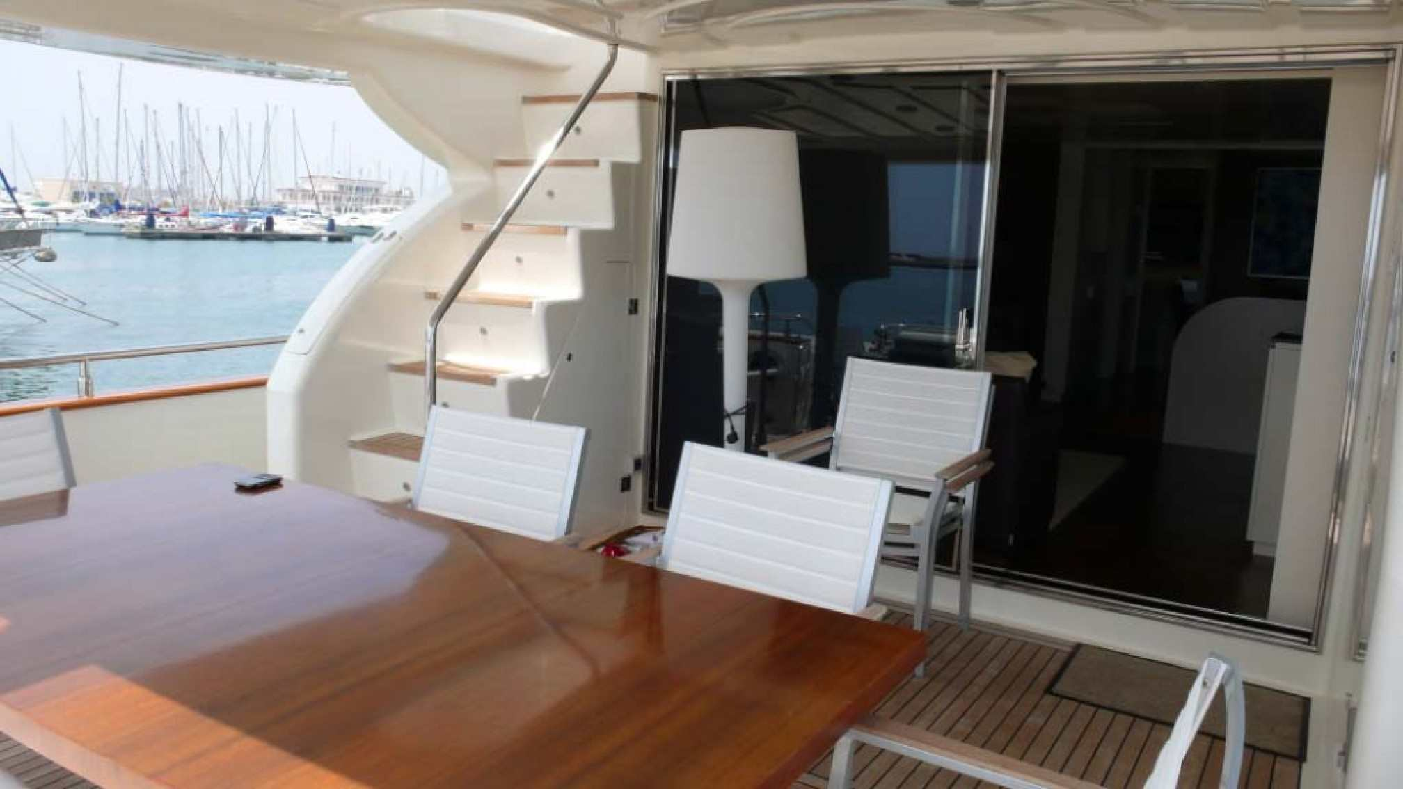 Astondoa 72 yacht charter outdoors