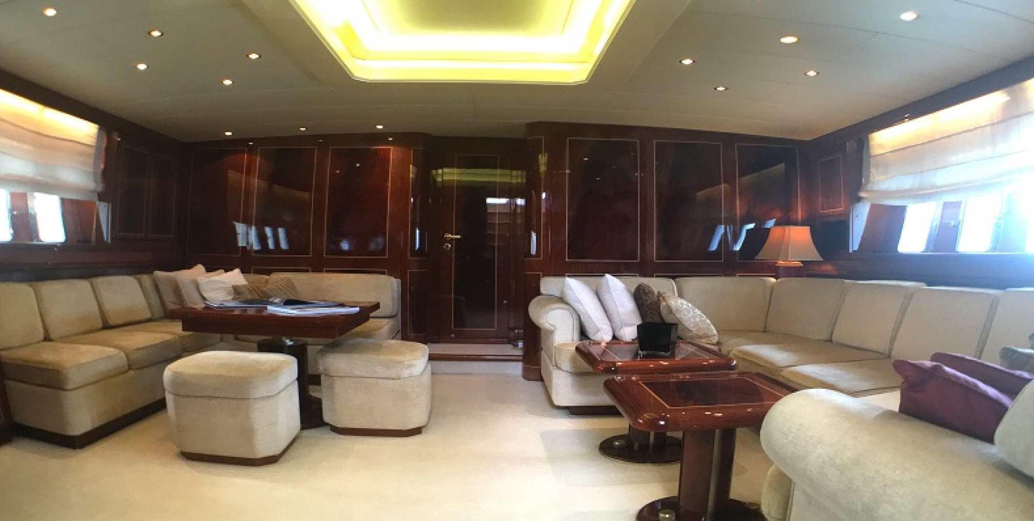 Mangusta 80 'VIP One' yacht charter salon