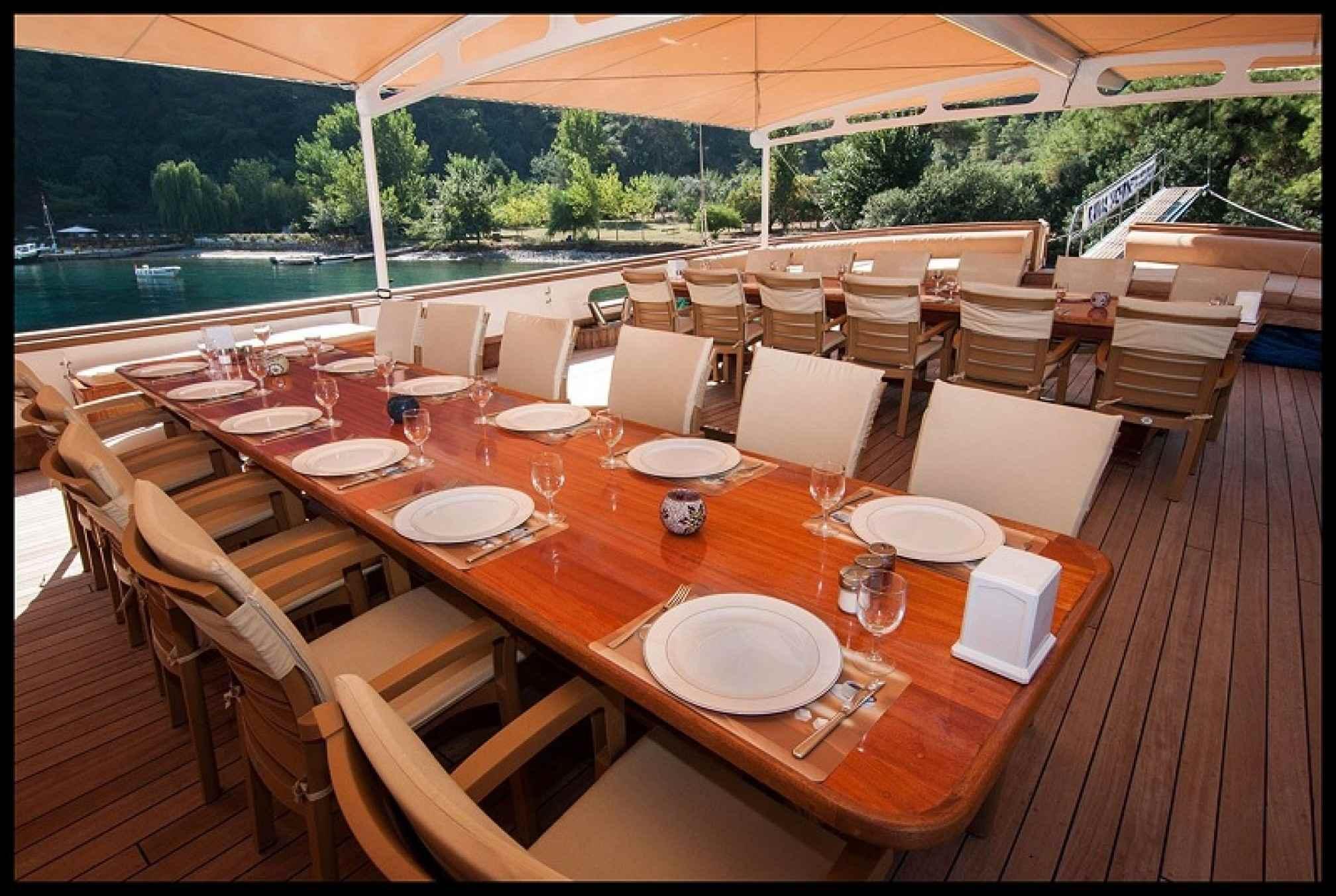 Tersane 8 gulet charter deck