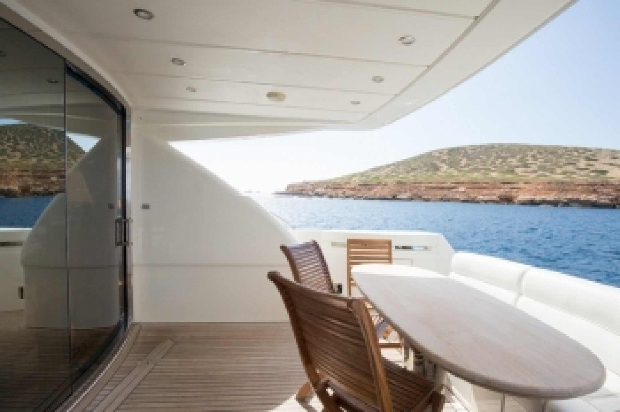 Abacus 61 'EINUS' yacht charter outdoors