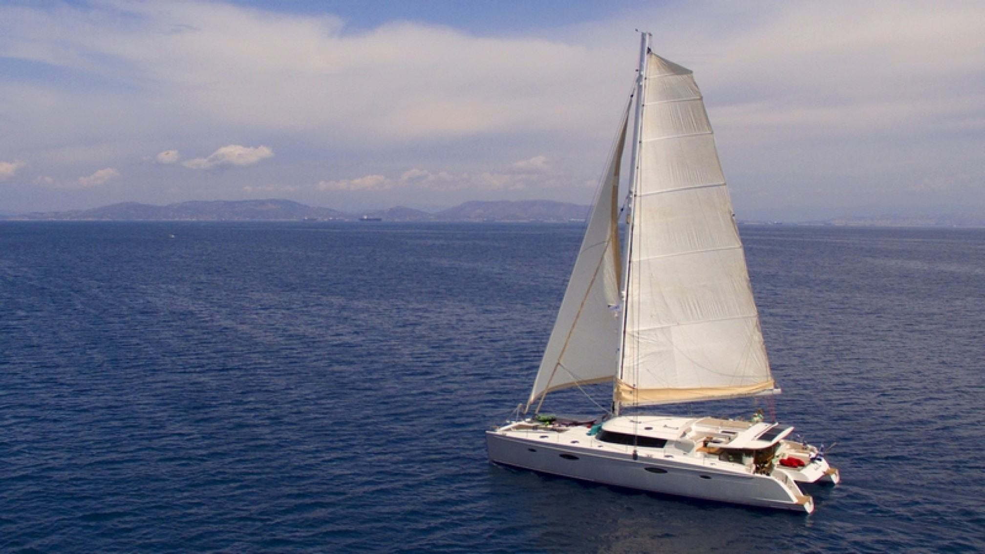 'World's End' catamaran charter sailing