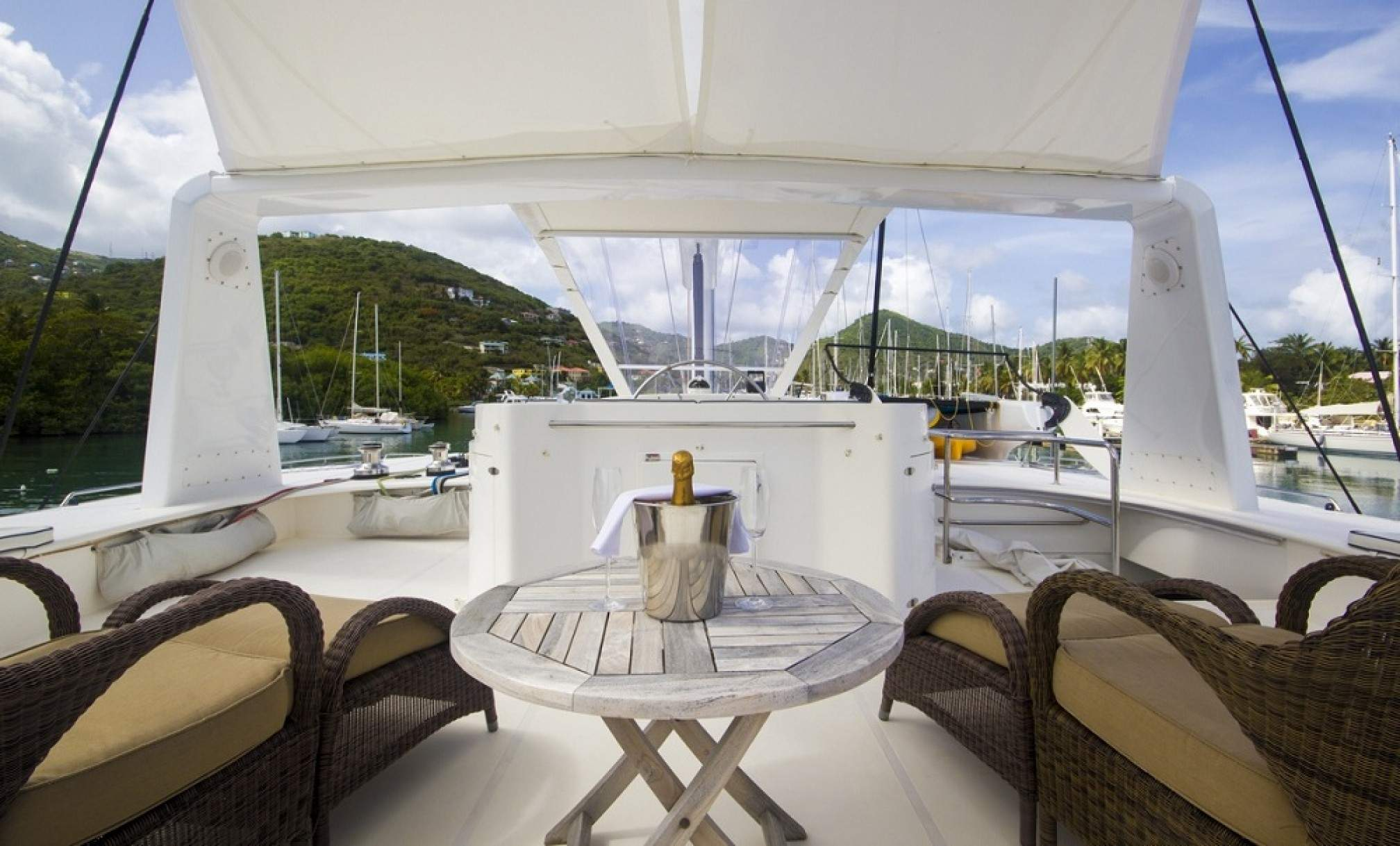 KINGS RANSOM luxury catamaran charter outdoors