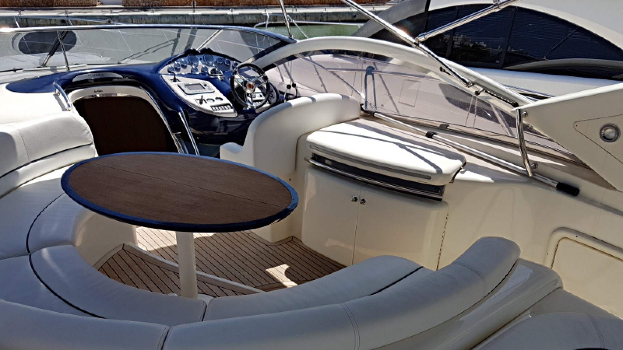 Gobbi Atlantis 47 charter motorboat outdoors
