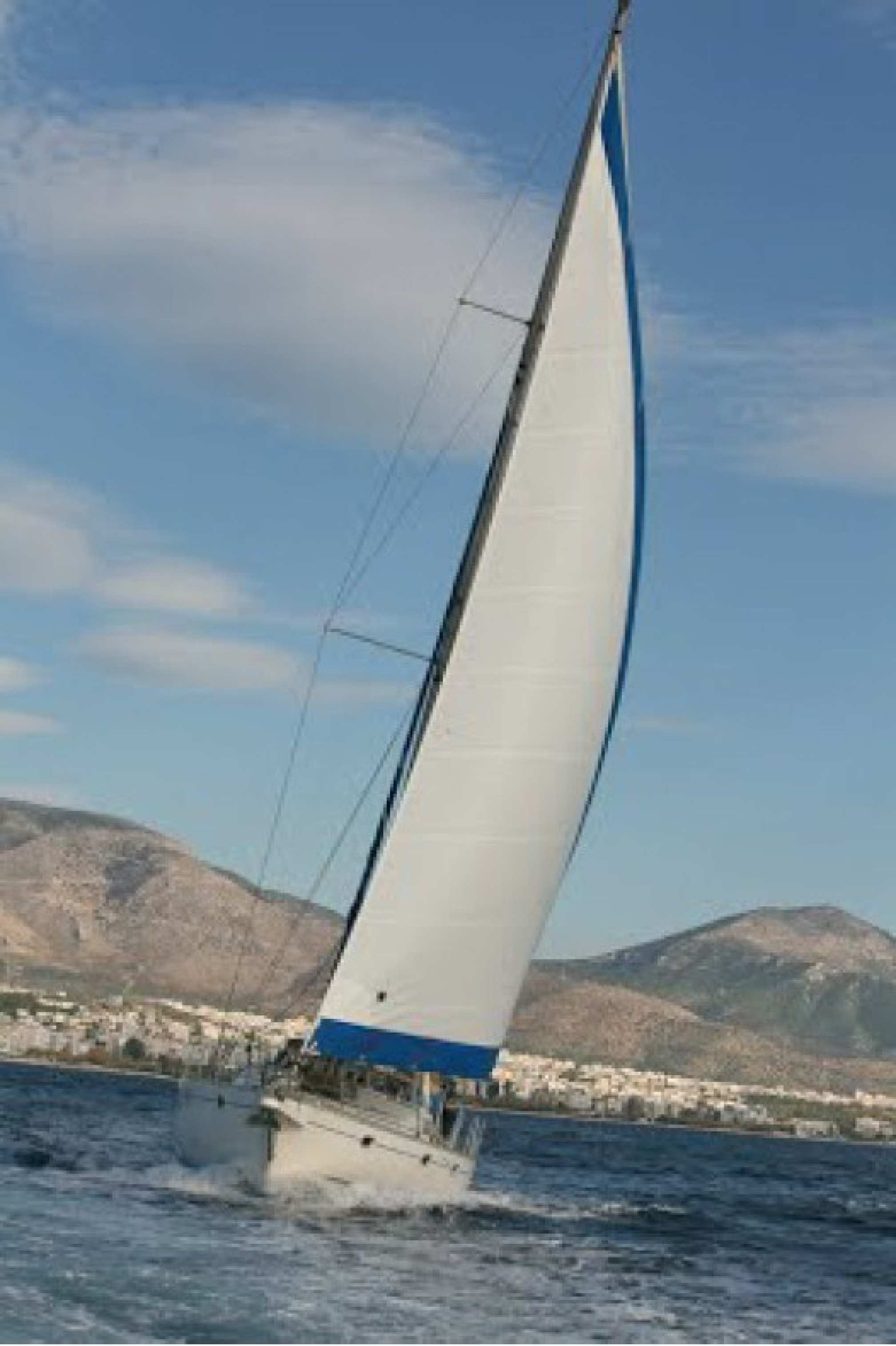 Summer Breeze charter sailboat sailing