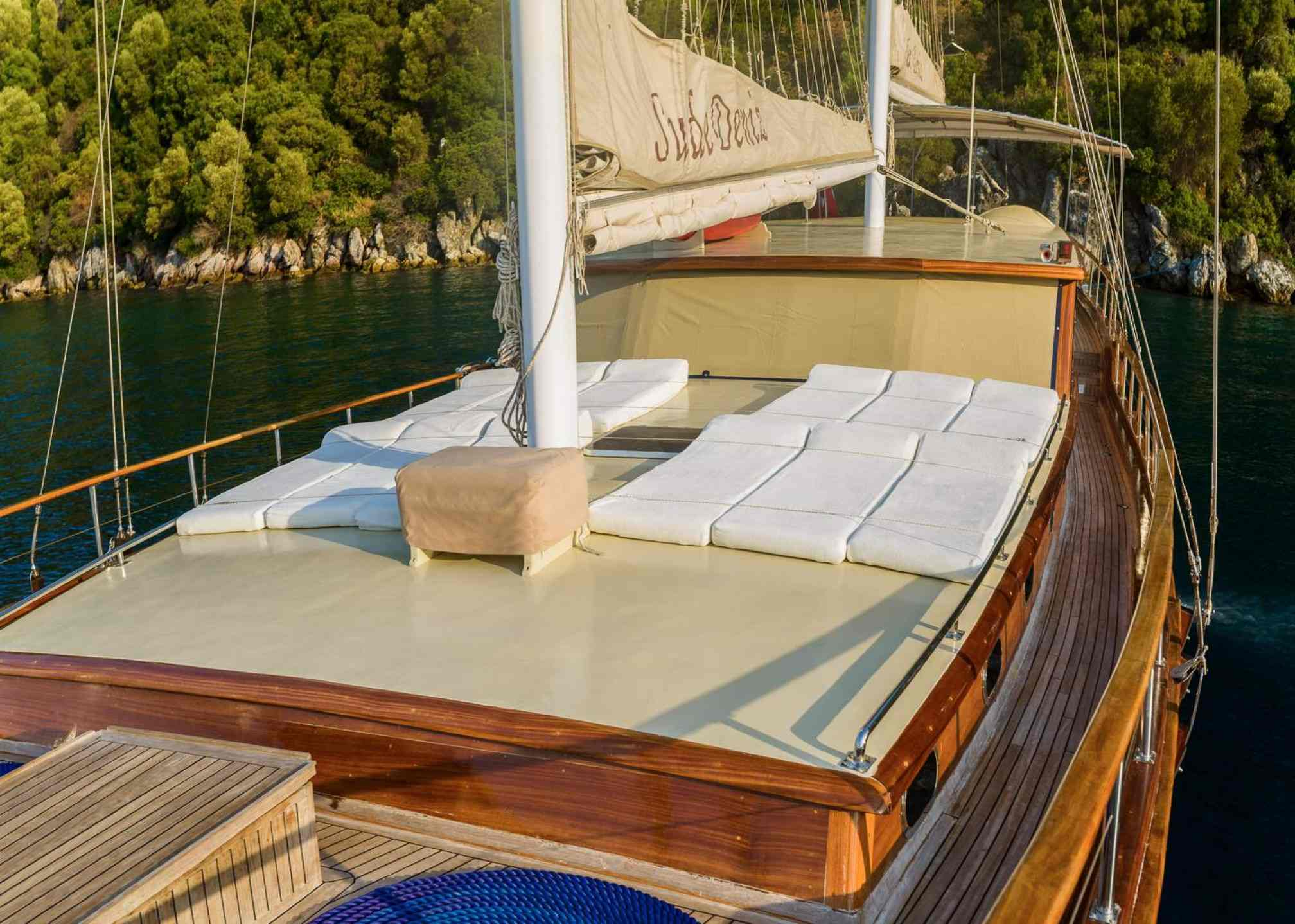 Sude Deniz gulet charter outdoors