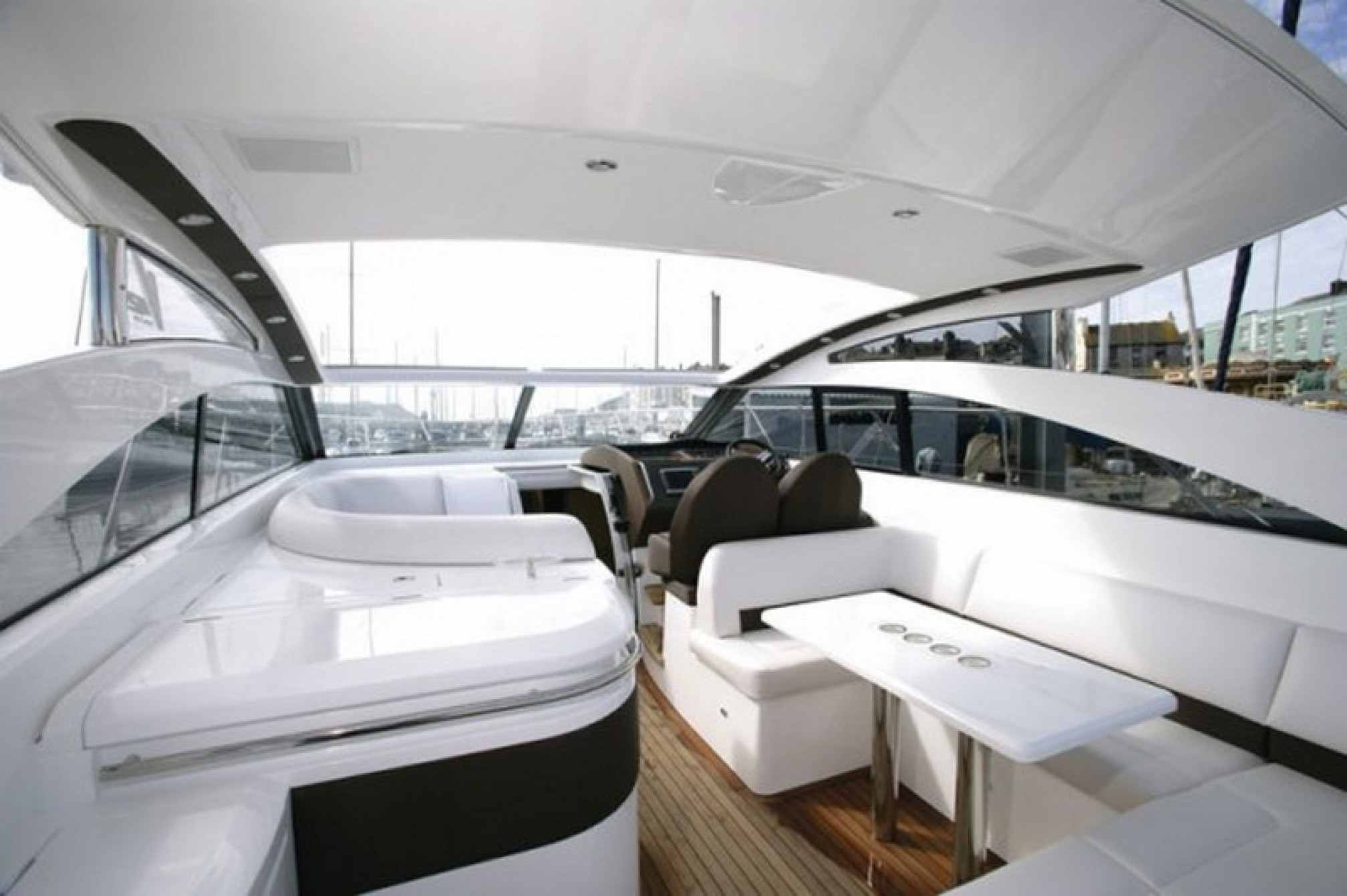 Princess V42 yacht charter outdoors