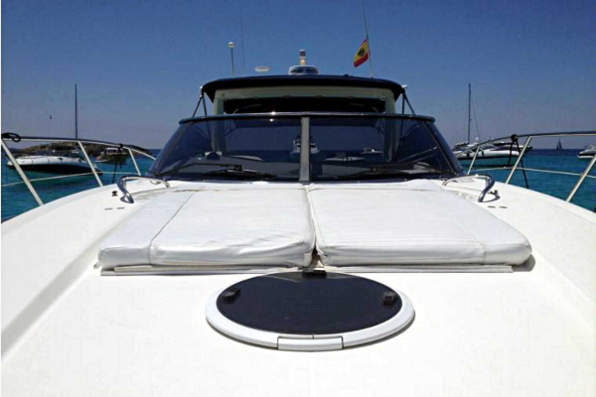 Sunseeker camargue 50 charter yacht outdoors