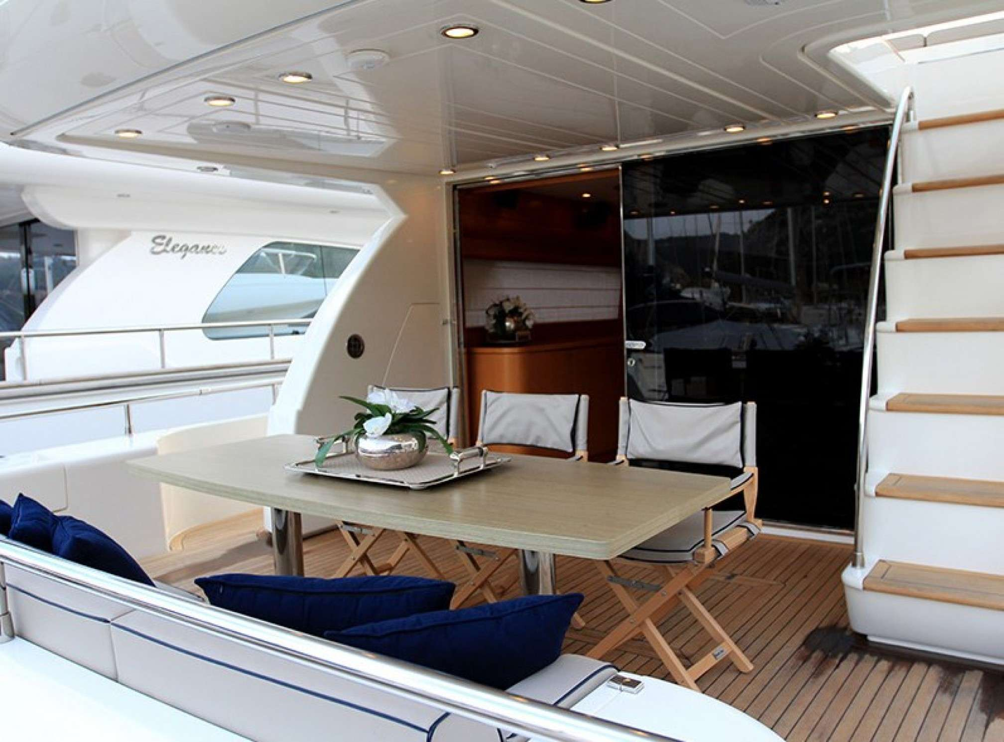 Uniesse 70 yacht charter outdoors