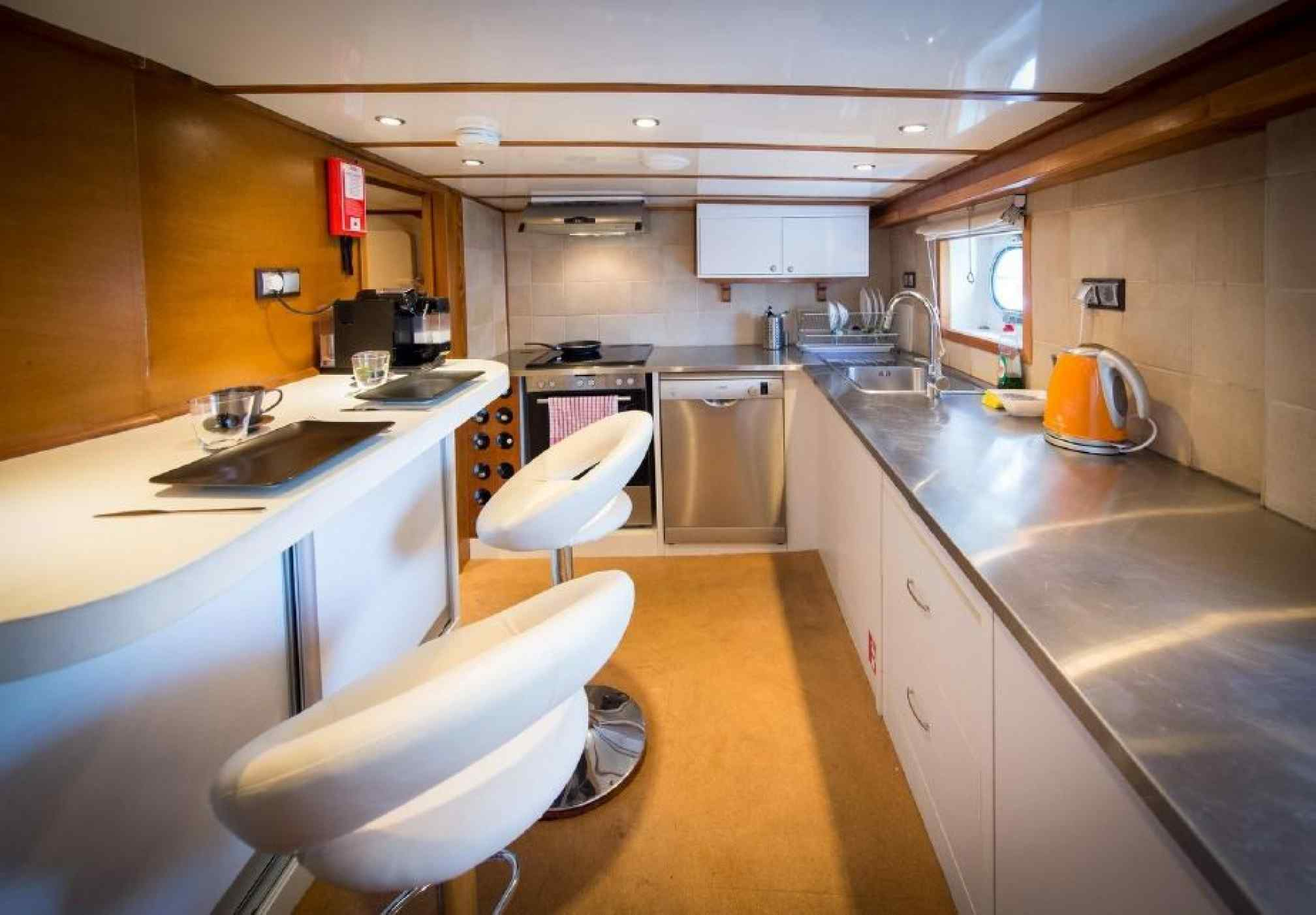 Adriatic Holiday gulet charter galley