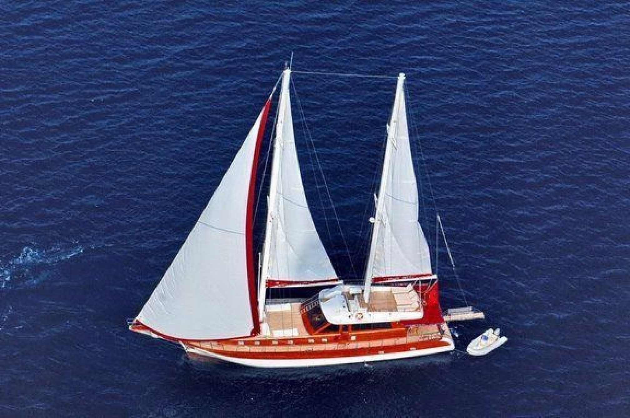 Adriatic Holiday gulet charter sailing