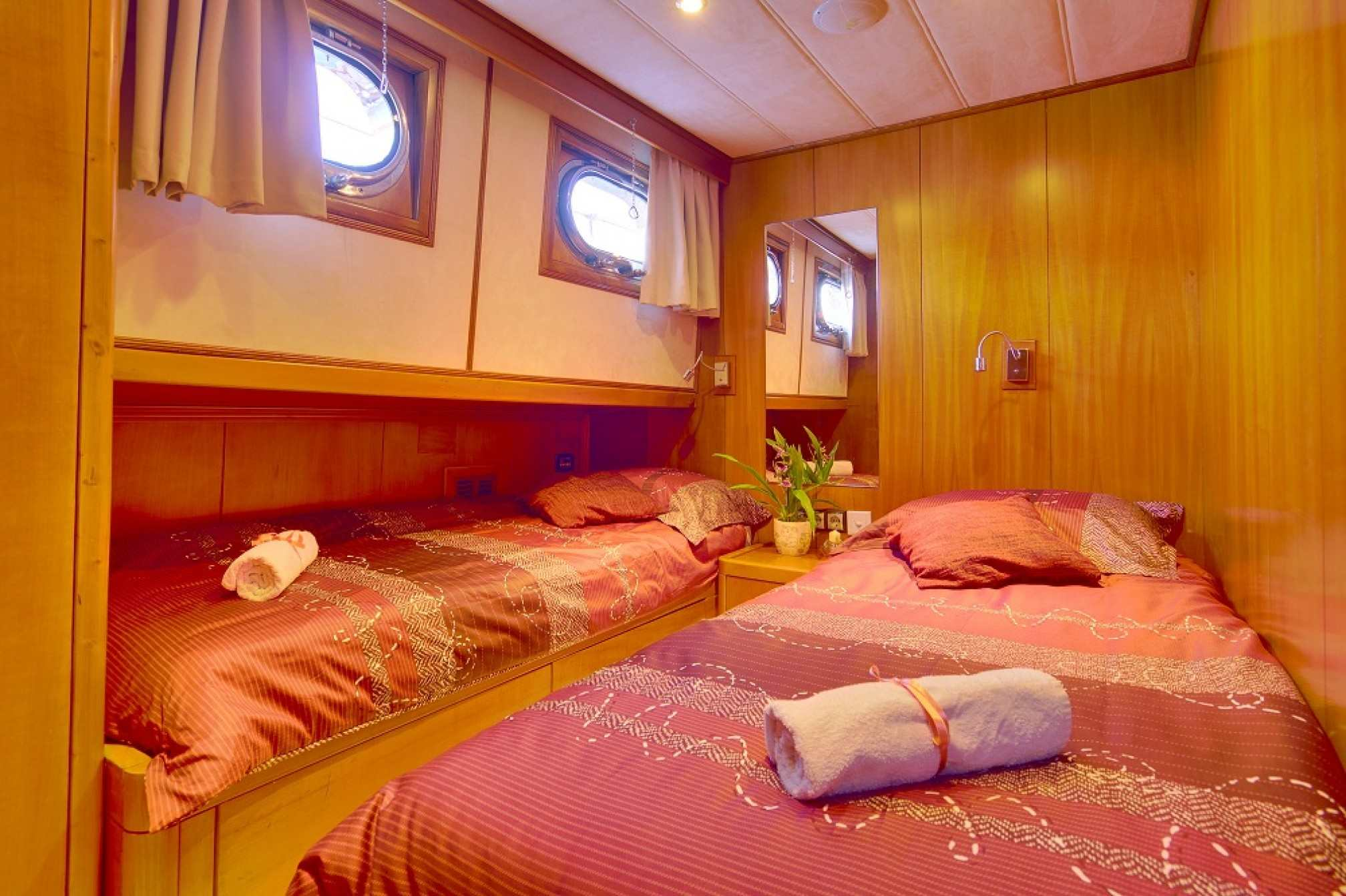 Adriatic Holiday gulet charter cabin