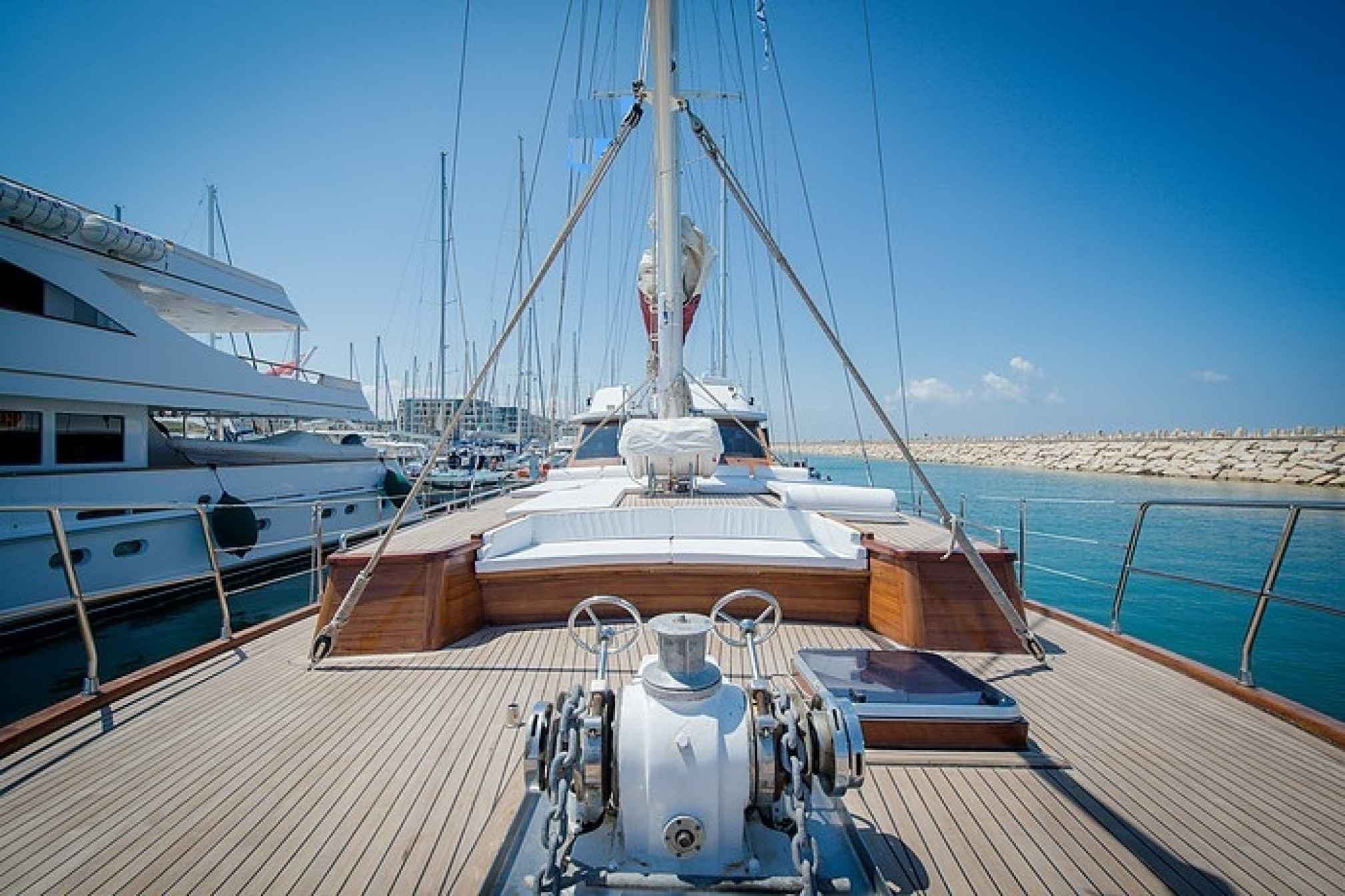 Adriatic Holiday gulet charter deck