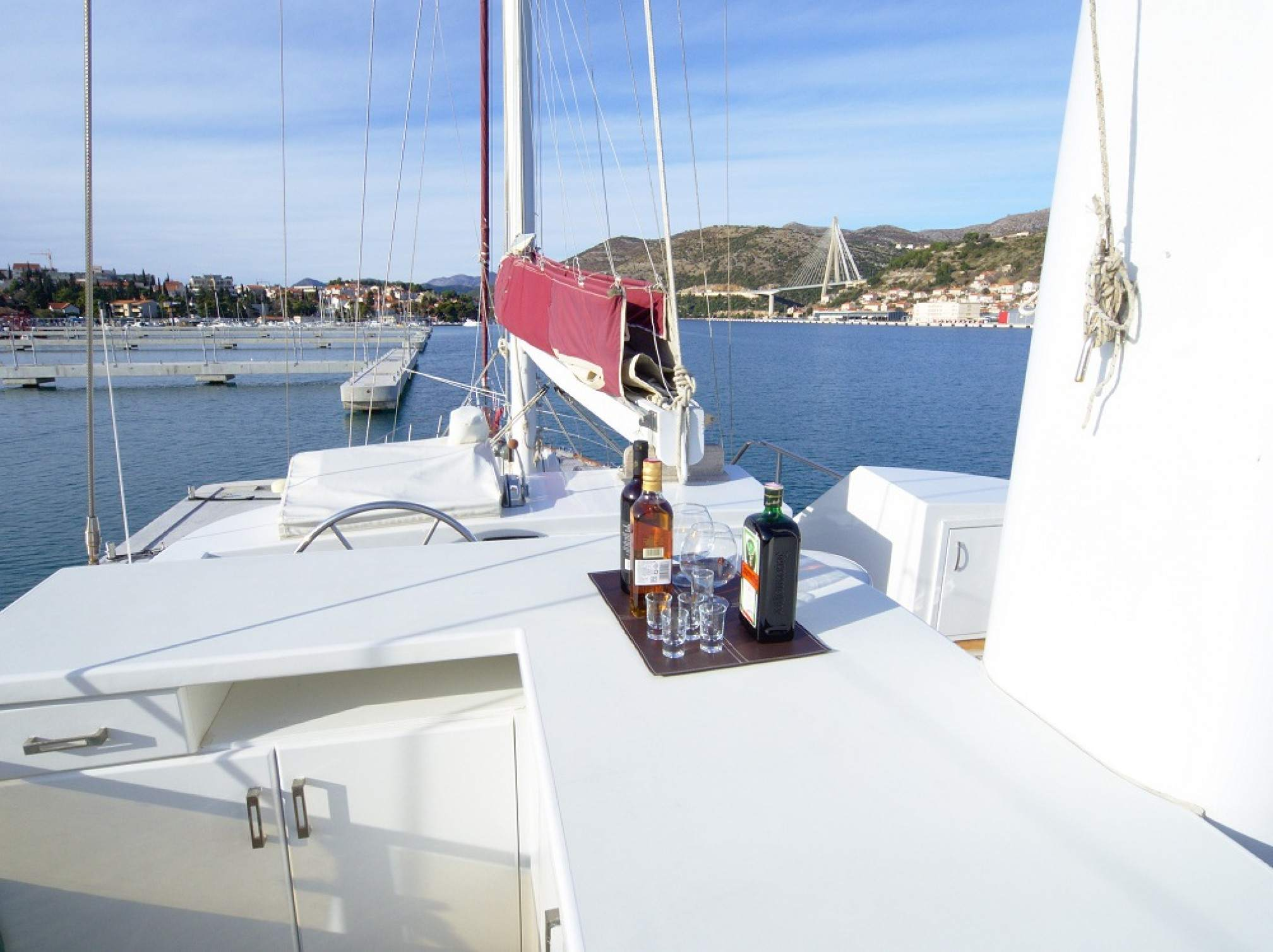 Adriatic Holiday gulet charter outdoors
