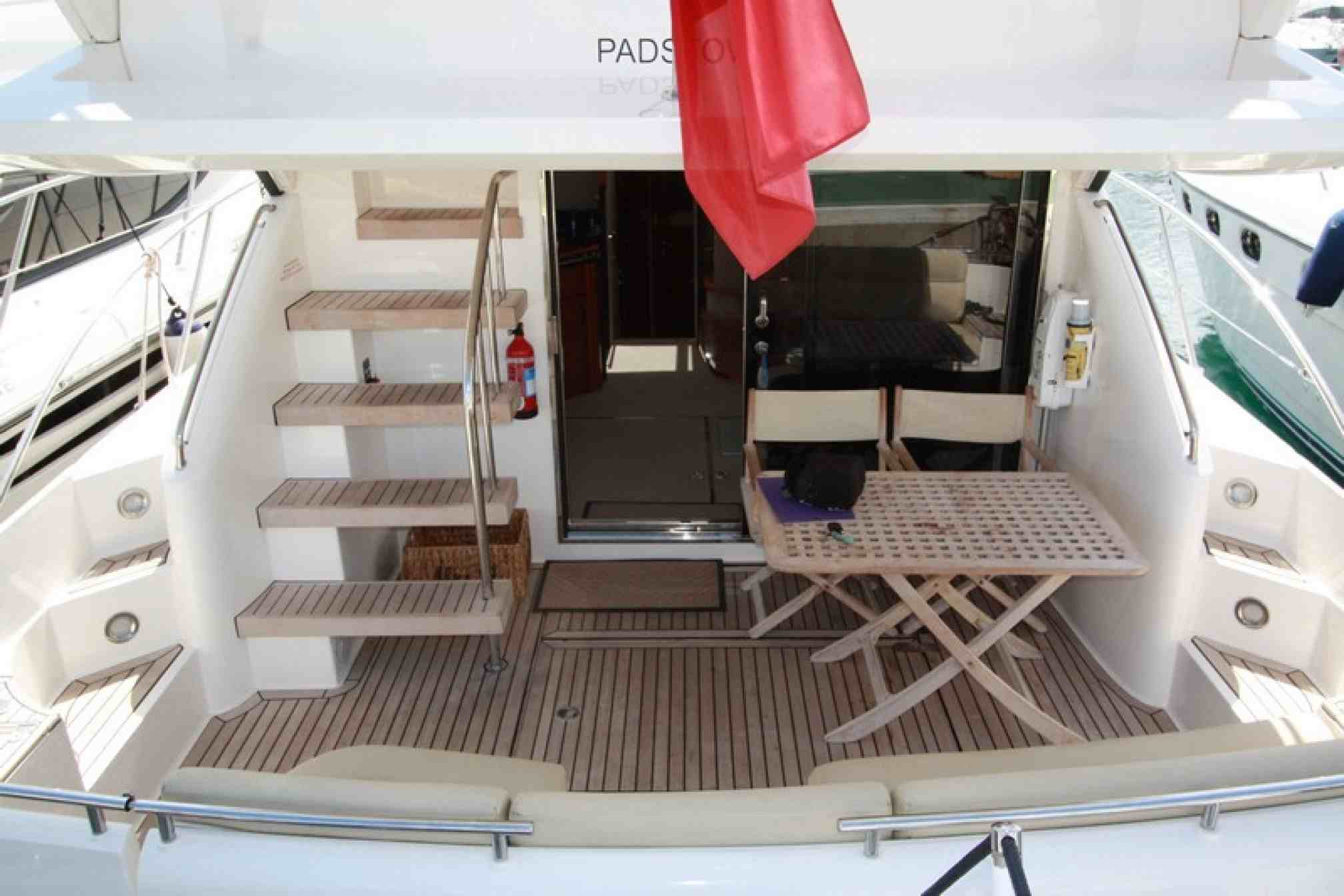 Fairline Phantom 46 yacht charter outdoors