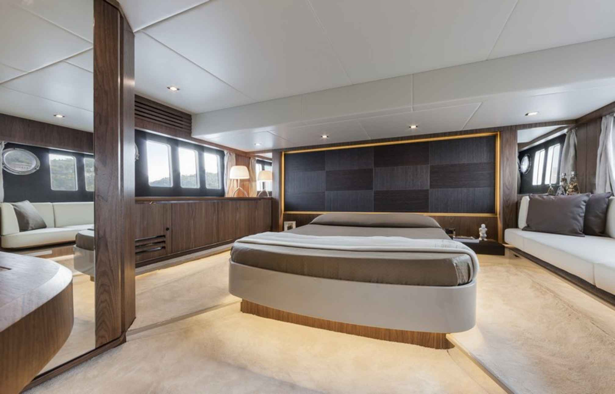 Absolute 52 yacht charter cabin