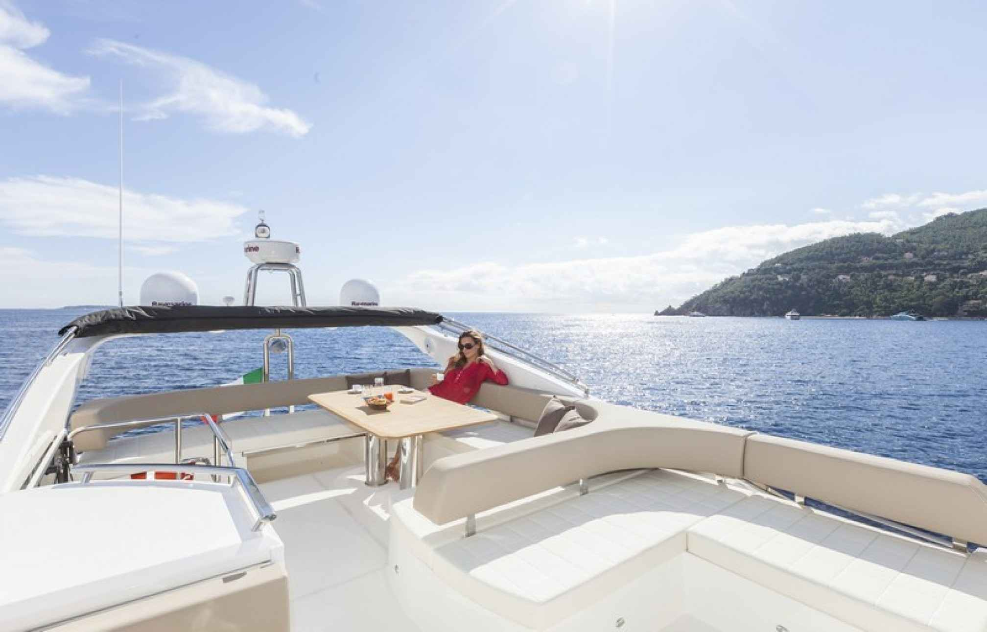 Absolute 52 yacht charter outdoors