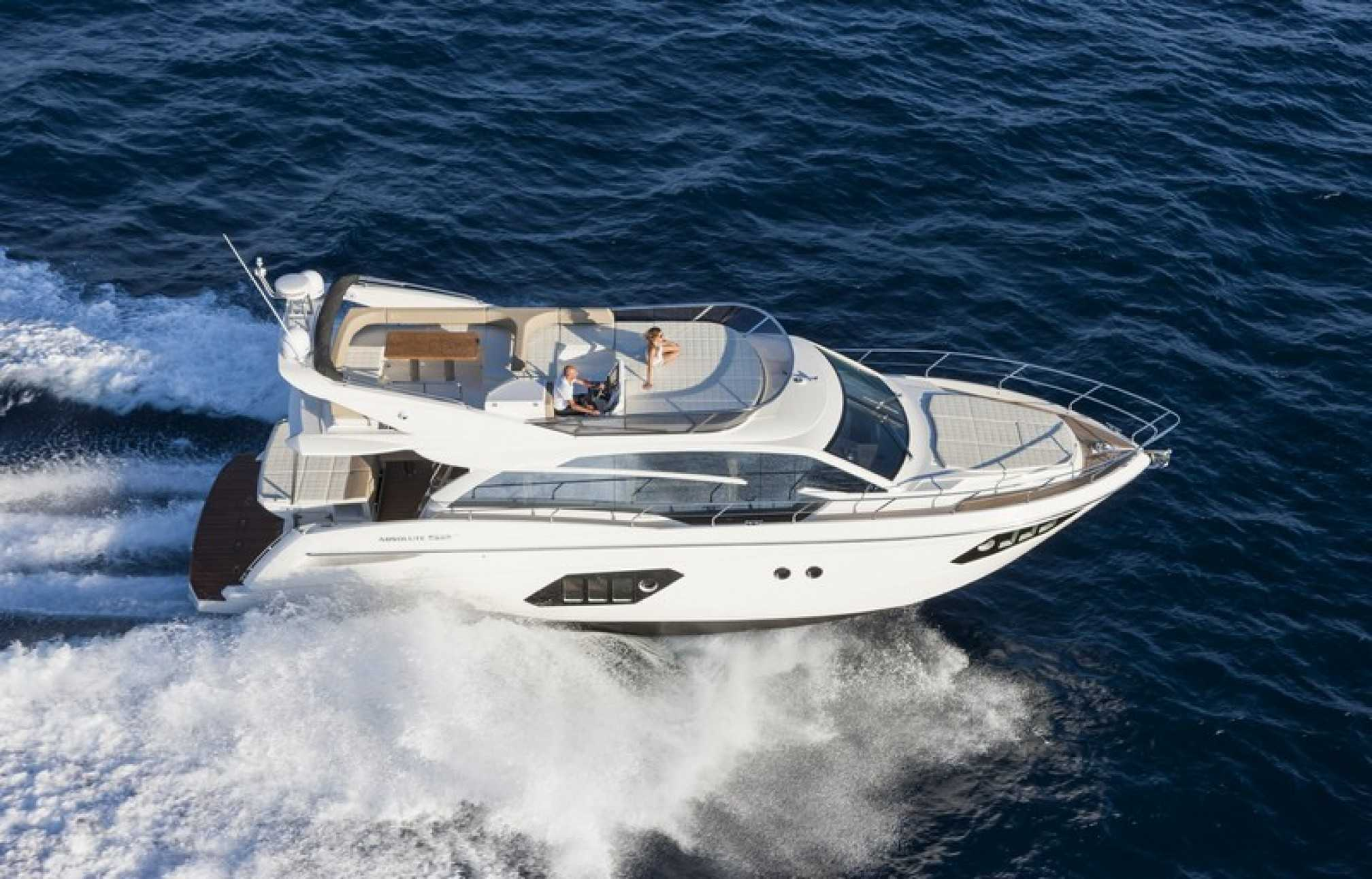 Absolute 52 yacht charter sailing