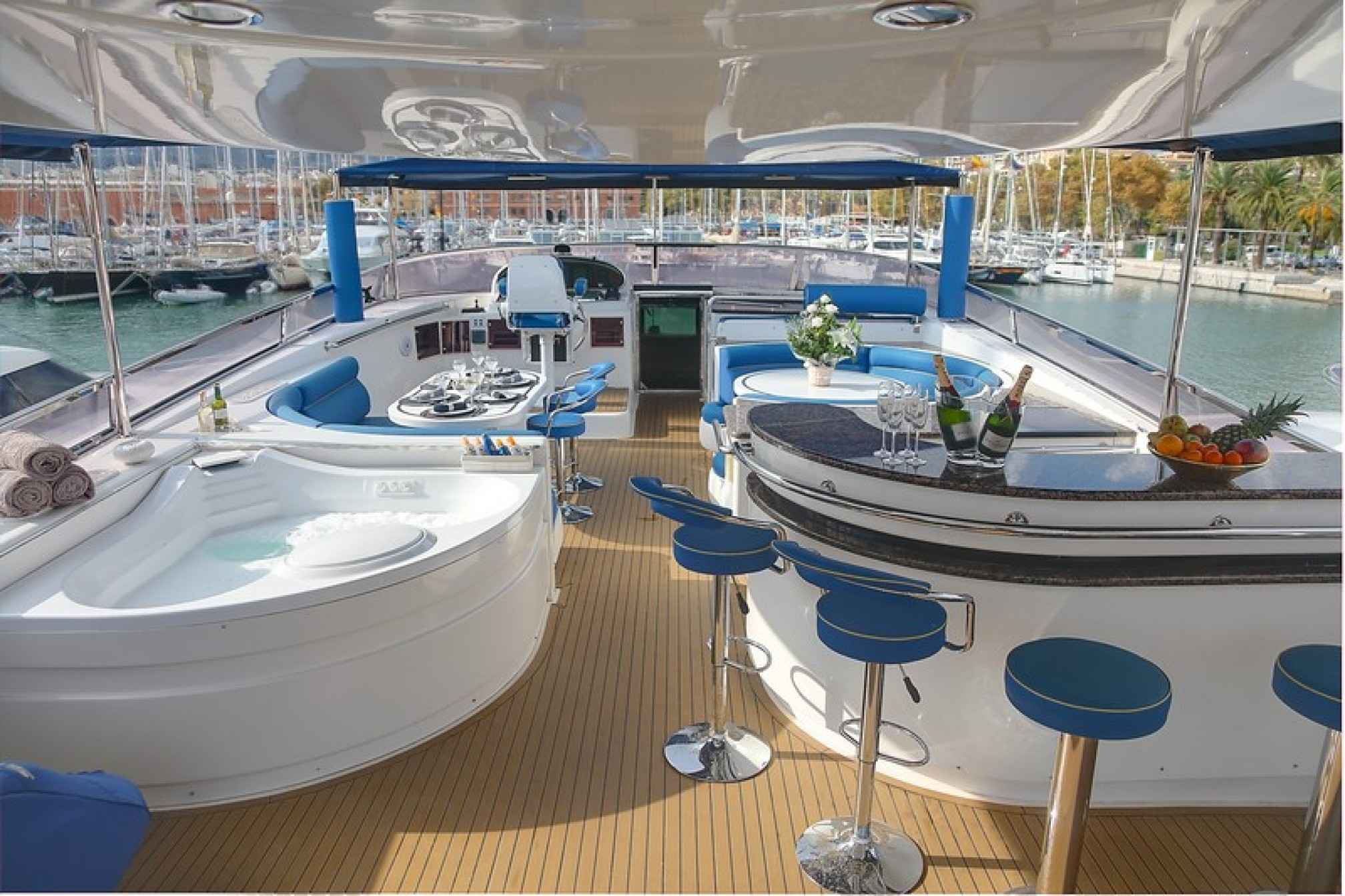 Elegance 95  yacht charter outdoors