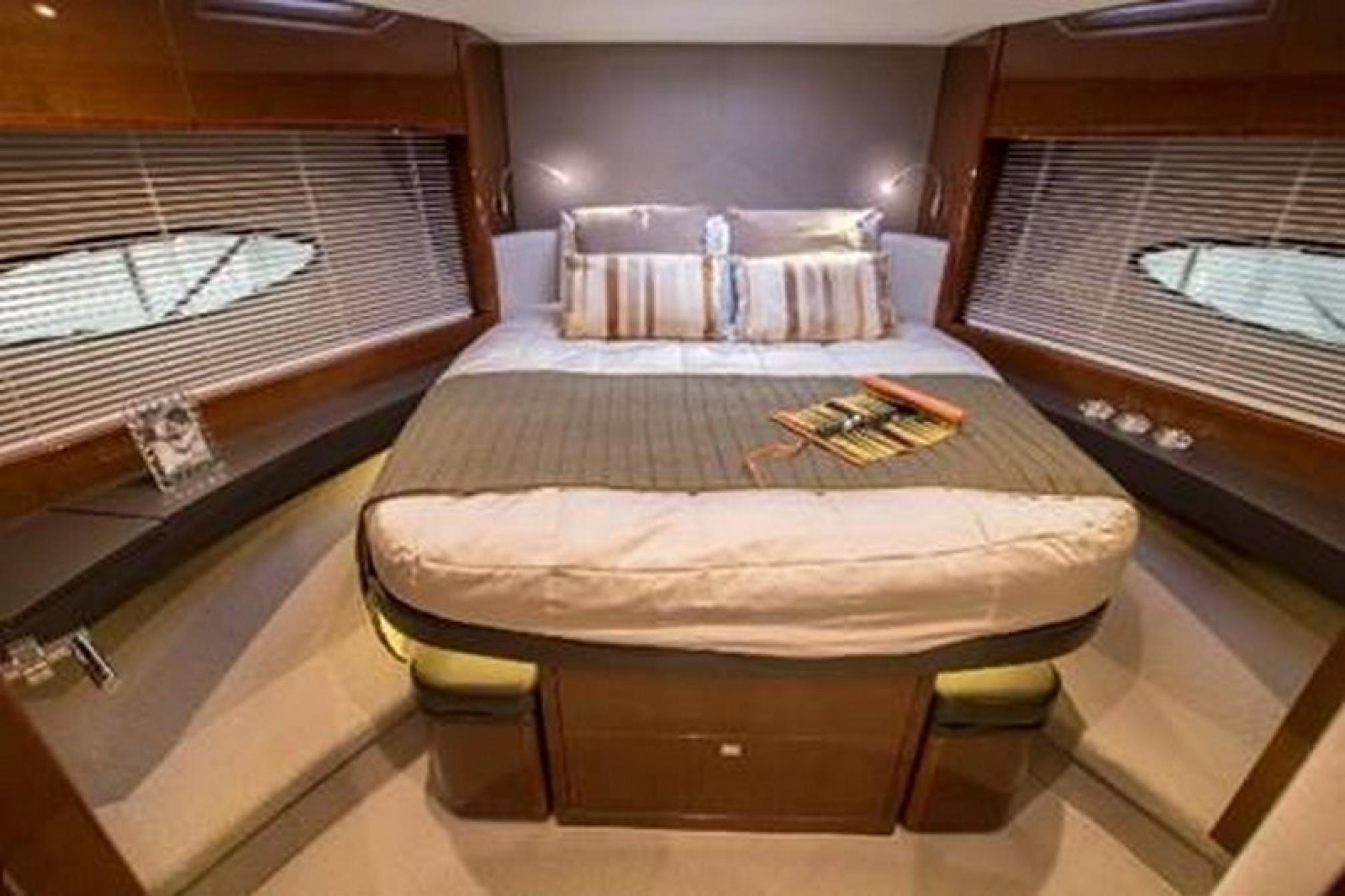 Princess 52 charter yacht cabin