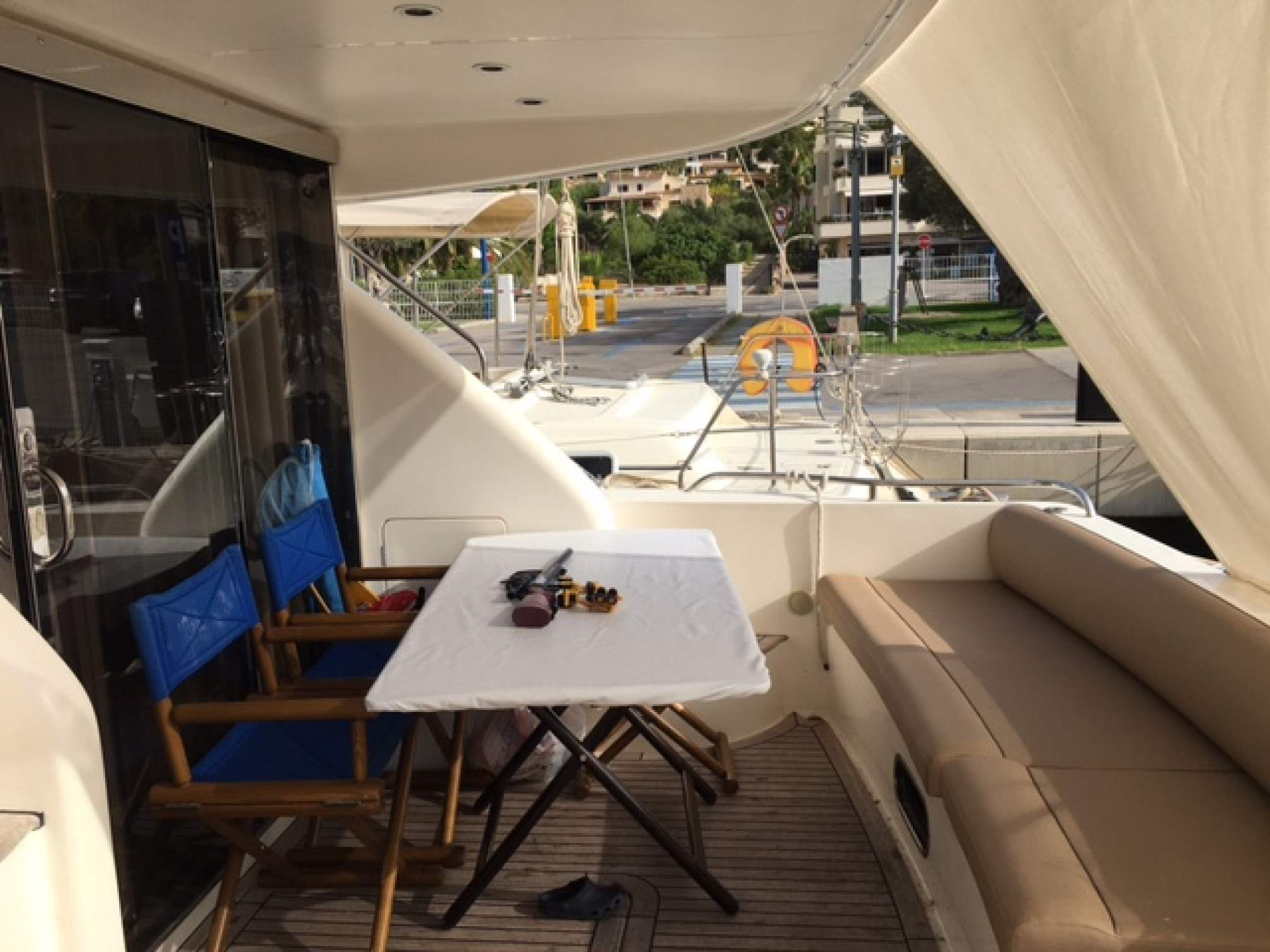 Princess 480 yacht charter outdoors