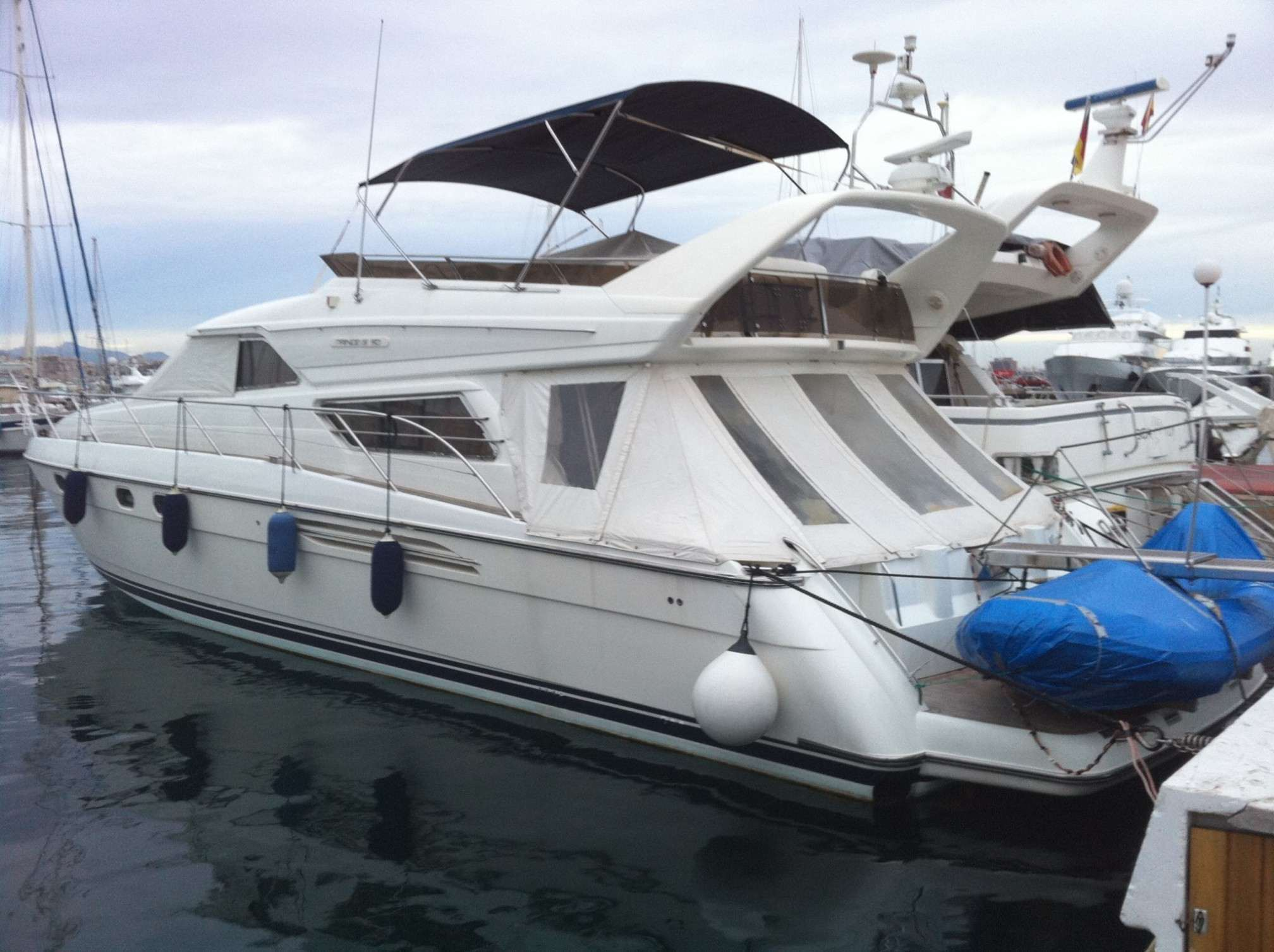 Princess 60 yacht charter moored
