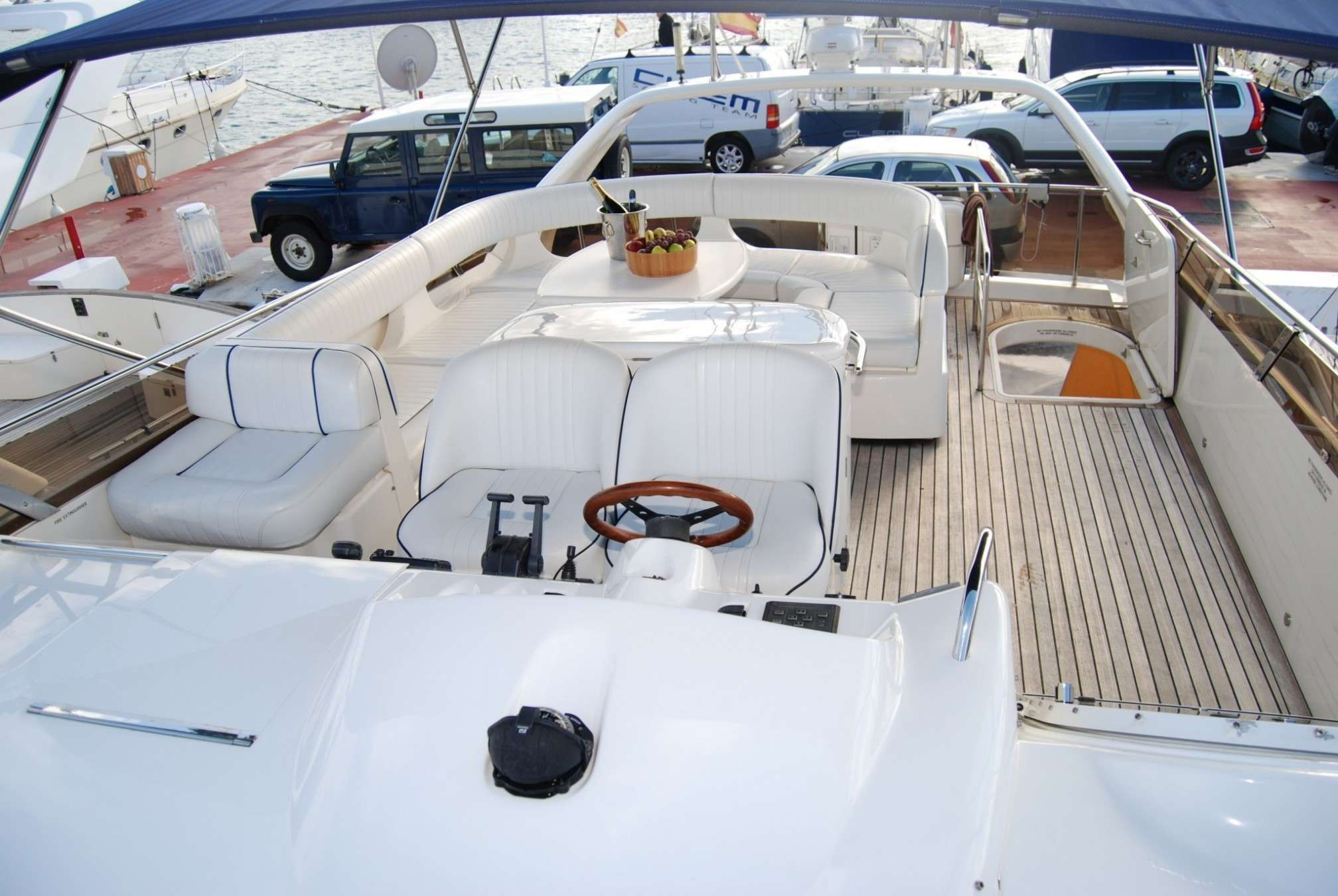Princess 60 yacht charter outdoors