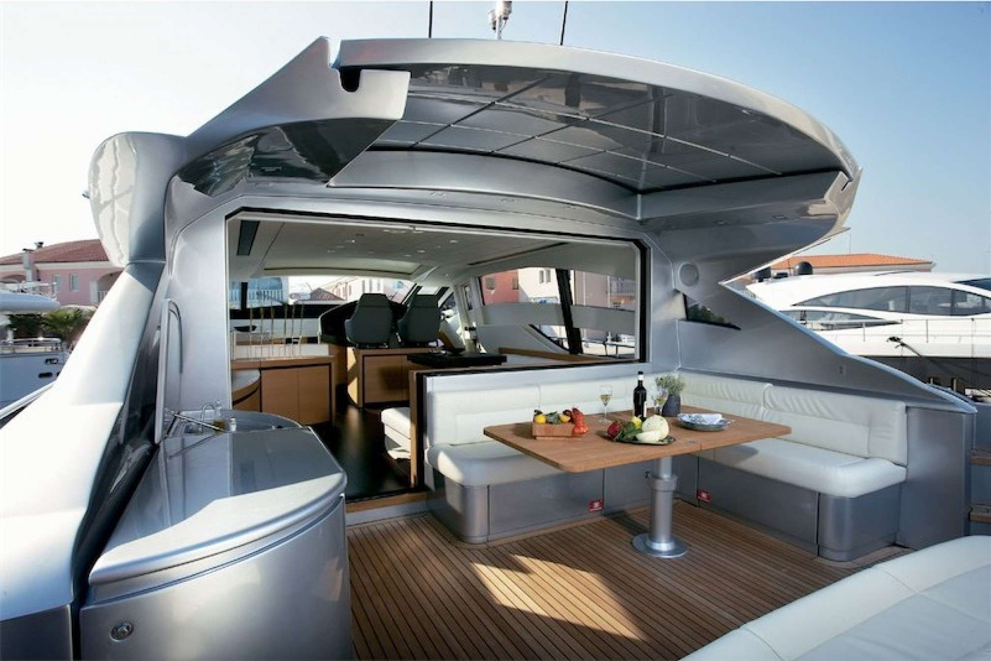 Pershing 72 yacht charter sailing outdoors