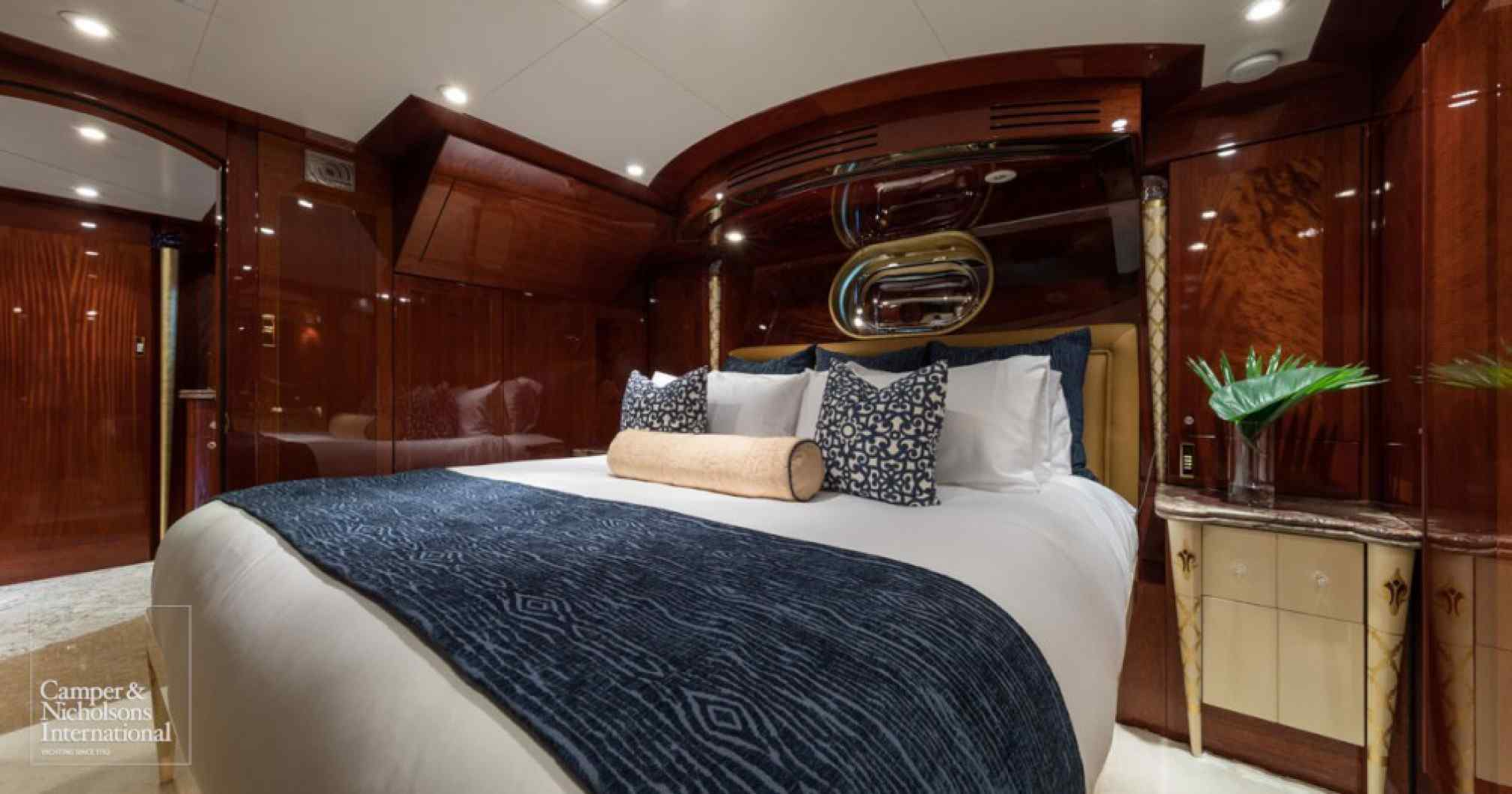 Touch yacht charter cabin