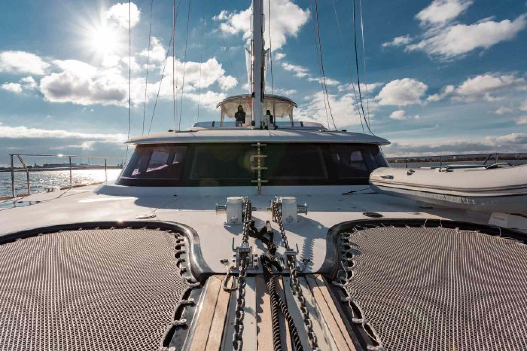 Orion yacht charter outdoors