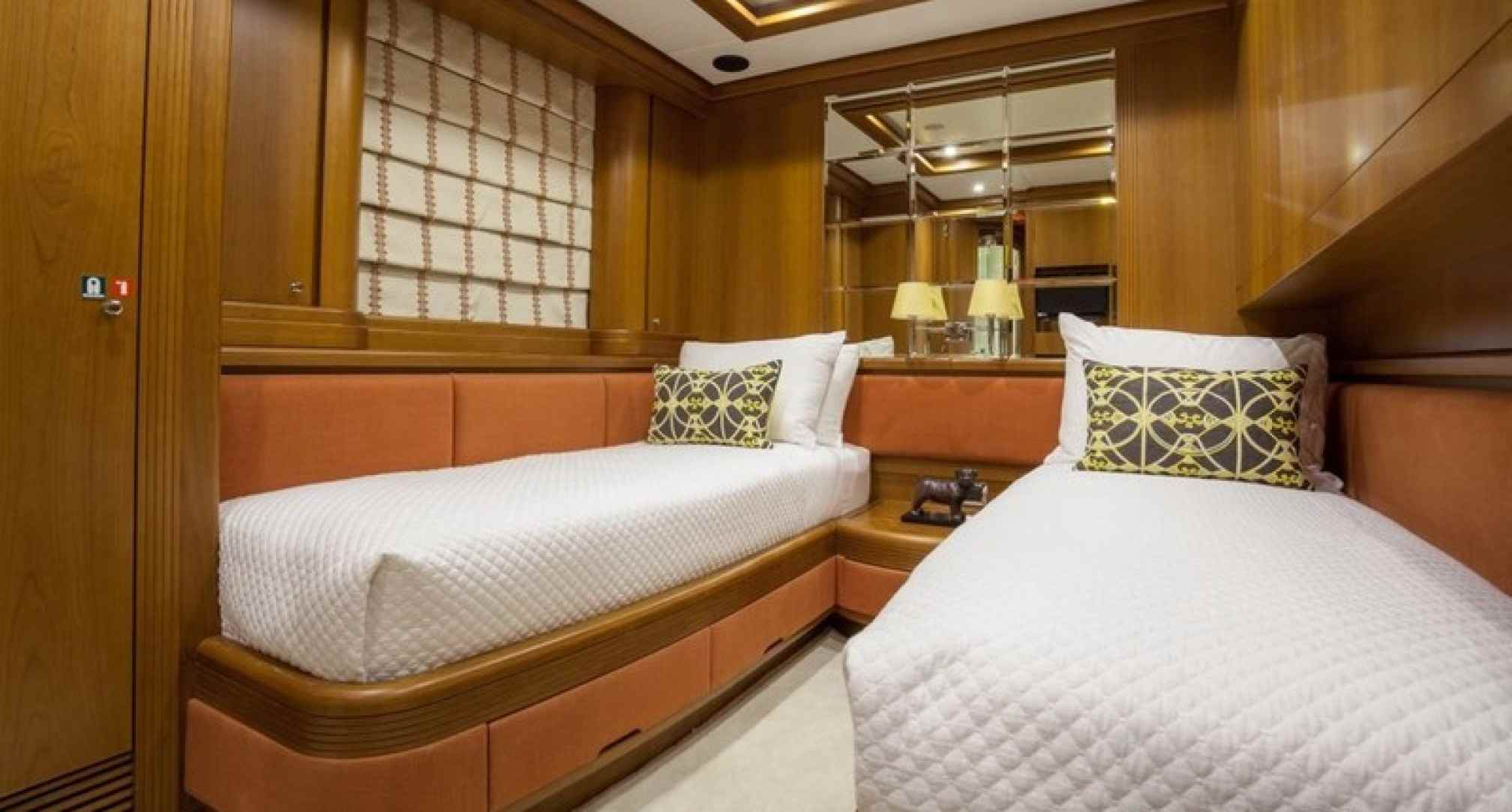 Happy Hour yacht charter cabin