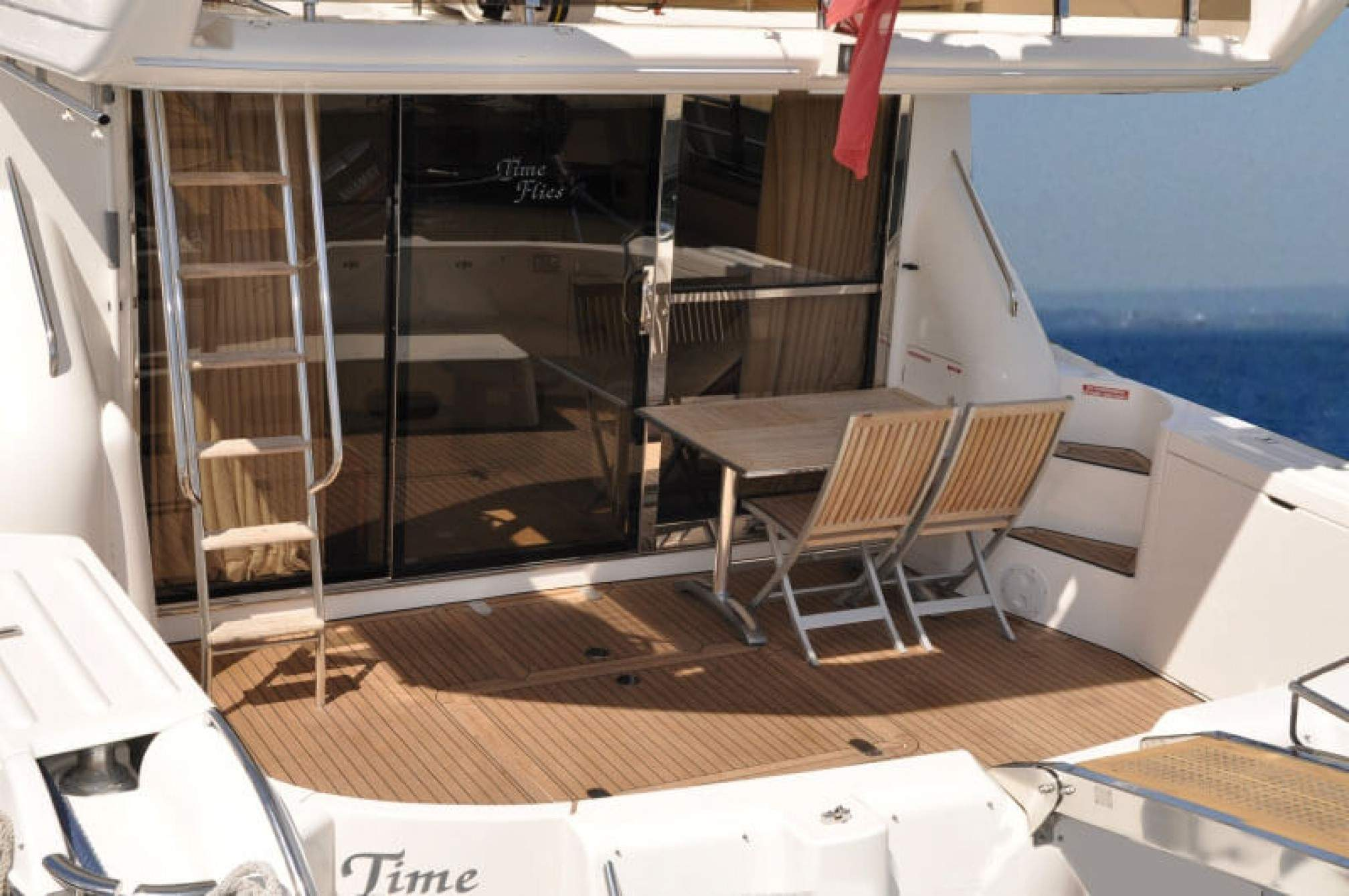 Princess 60' yacht charter cockpit