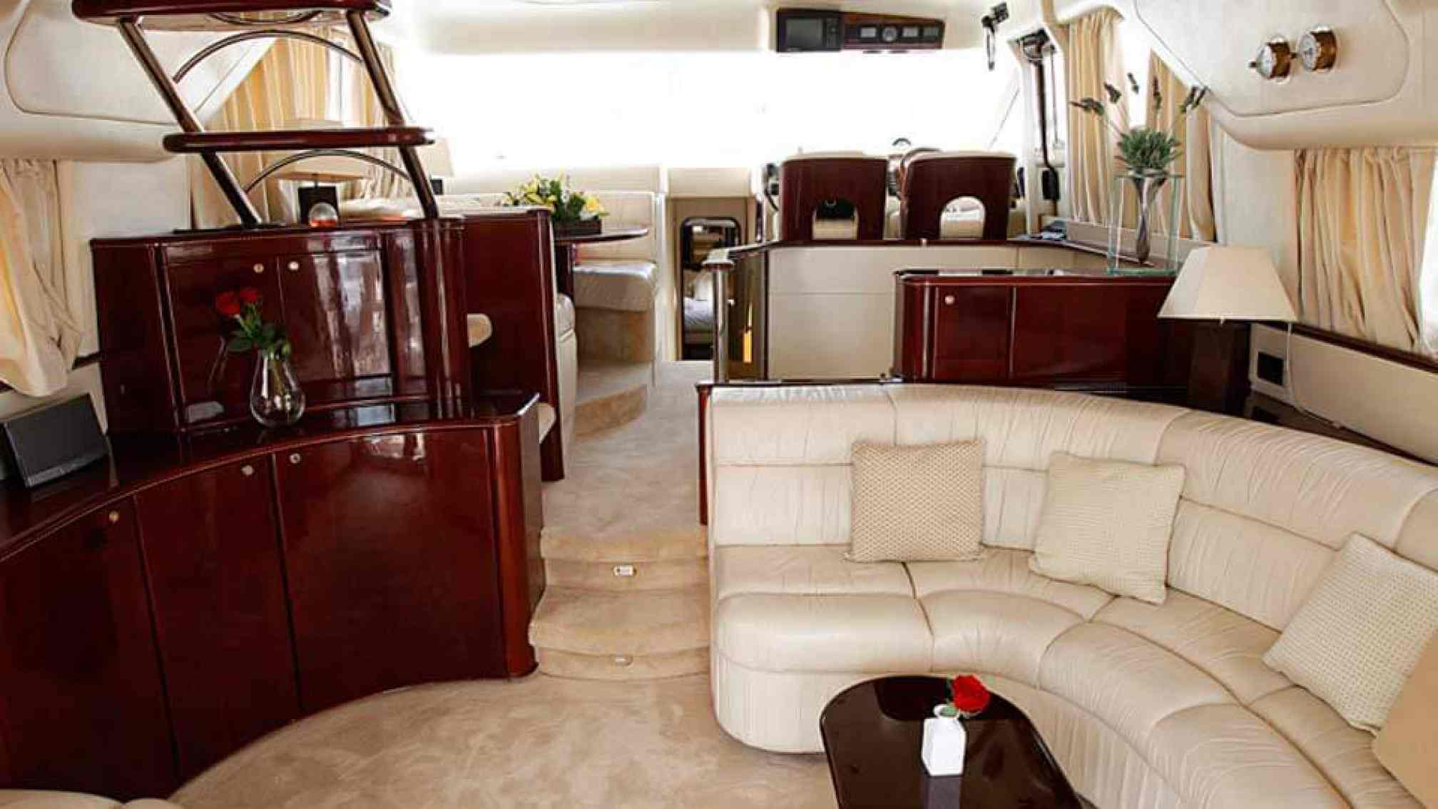 Princess 60' yacht charter salon