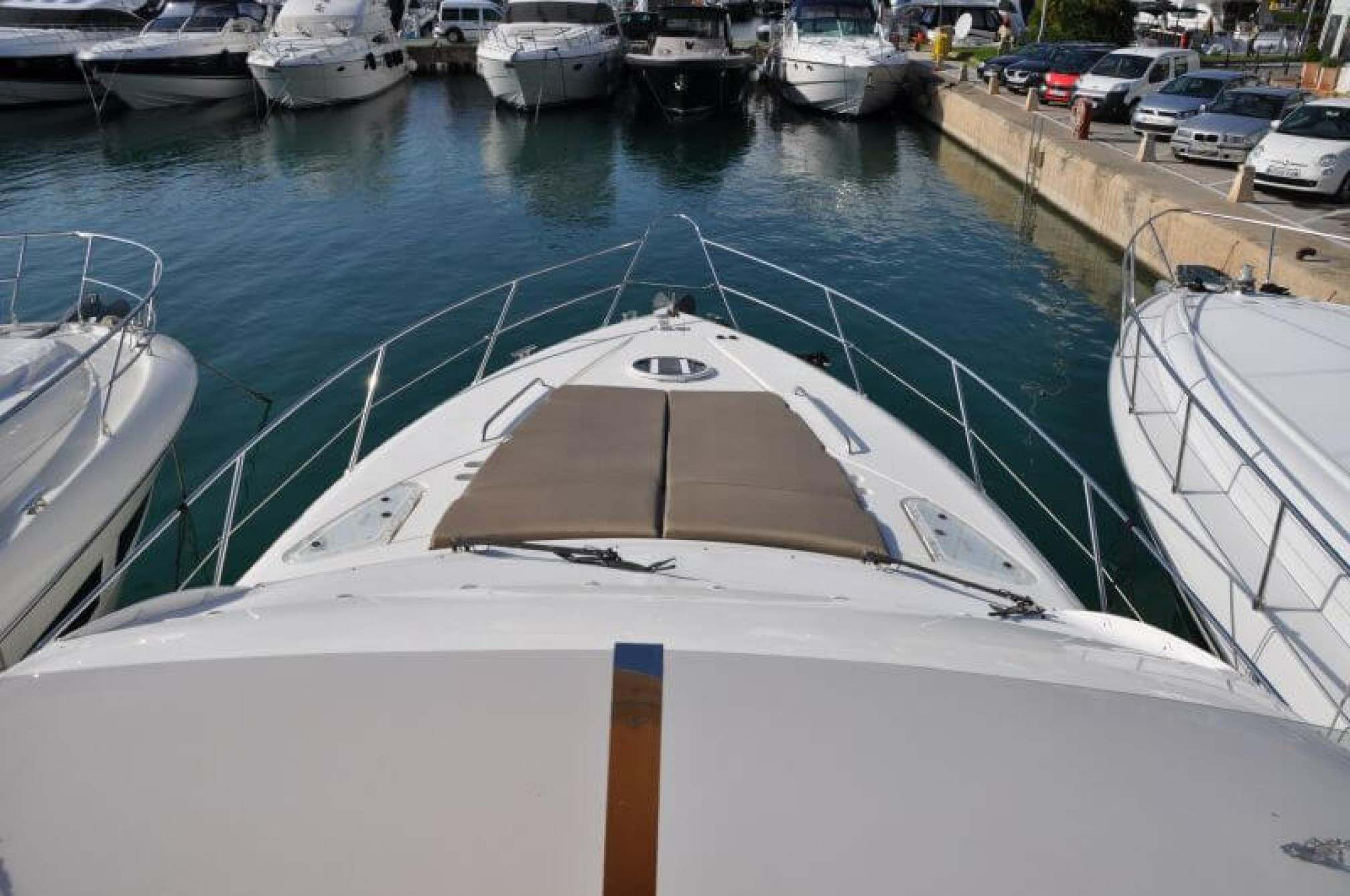 Fairline Phantom 50 yacht charter bow