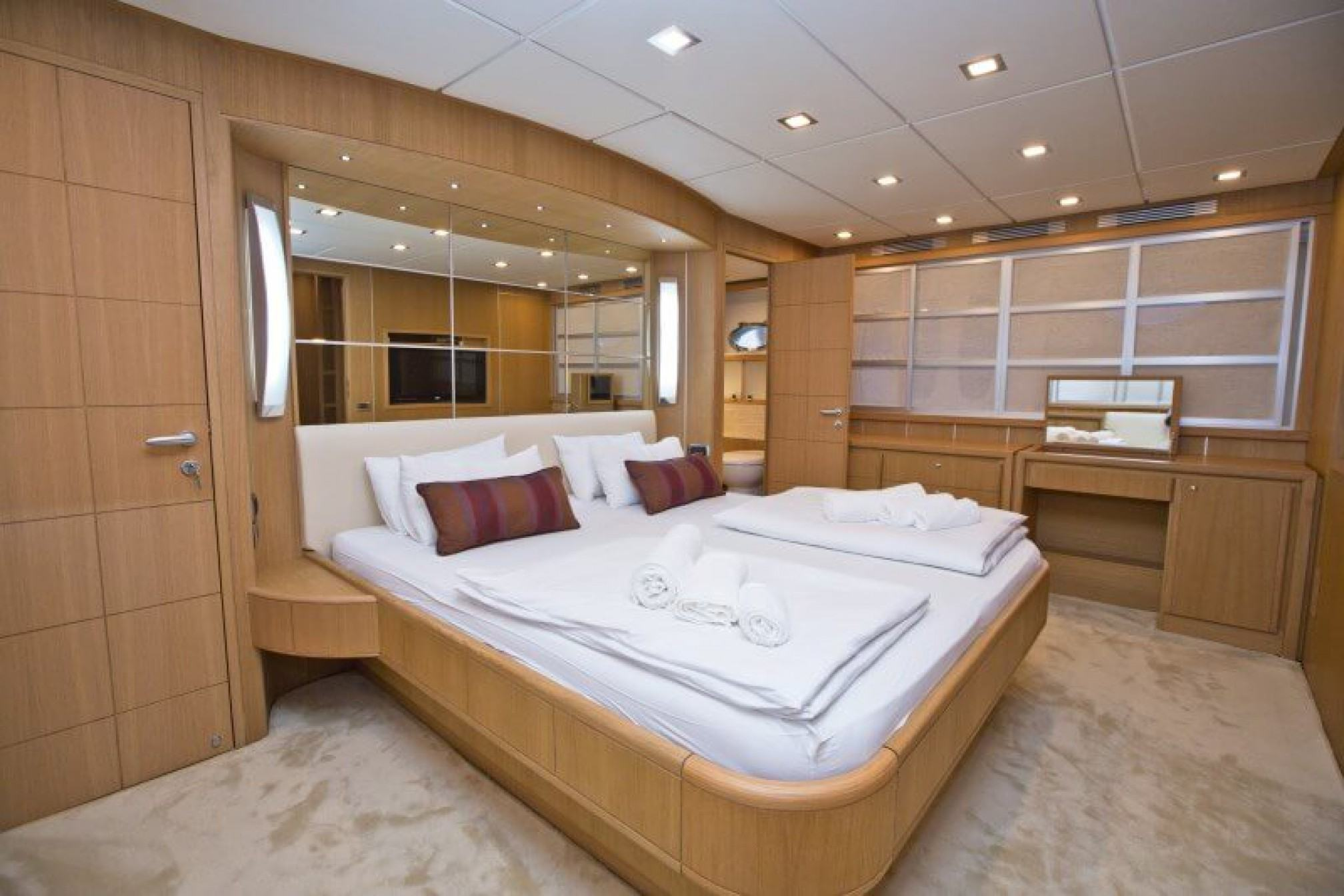 Abacus 70 yacht charter cabin