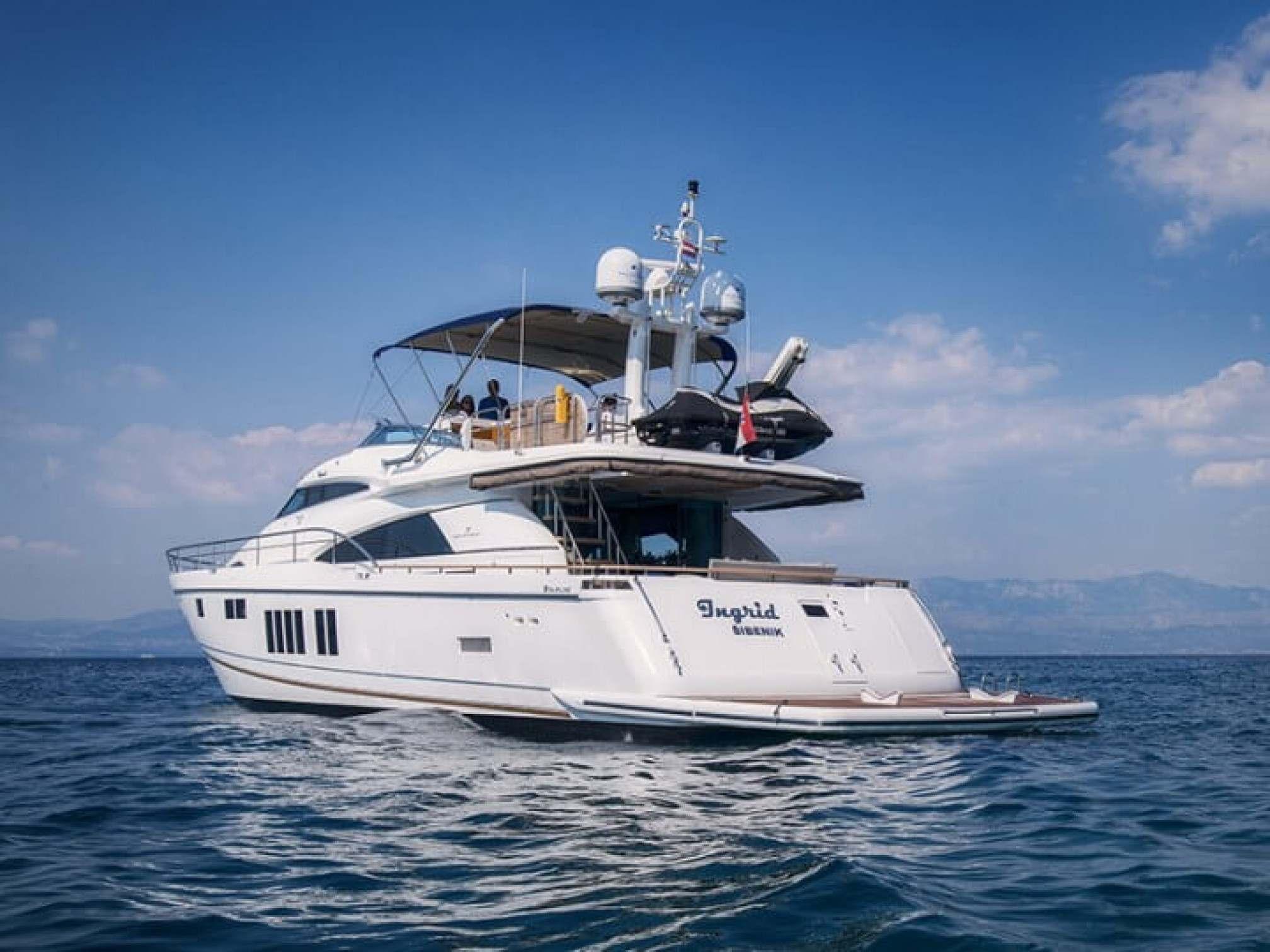 Squadron 78 Ingrid yacht charter mooring