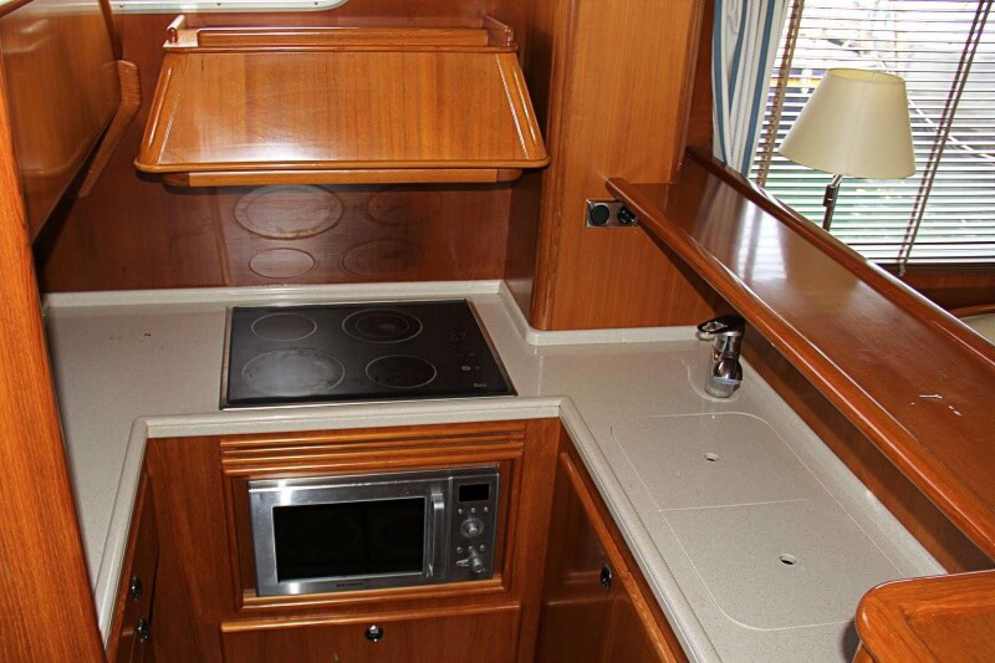 Belliure 48 'Ismar' yacht charter galley