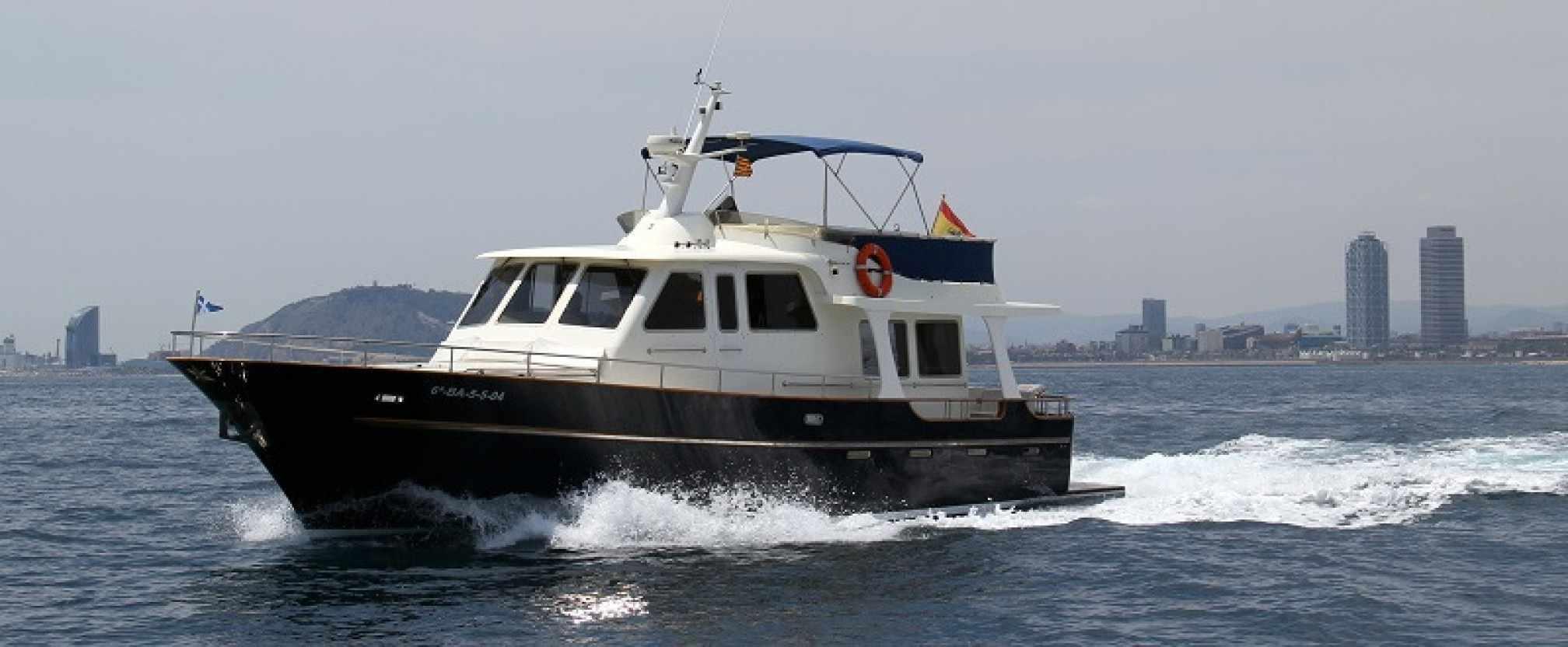Belliure 48 'Ismar' yacht charter sailing