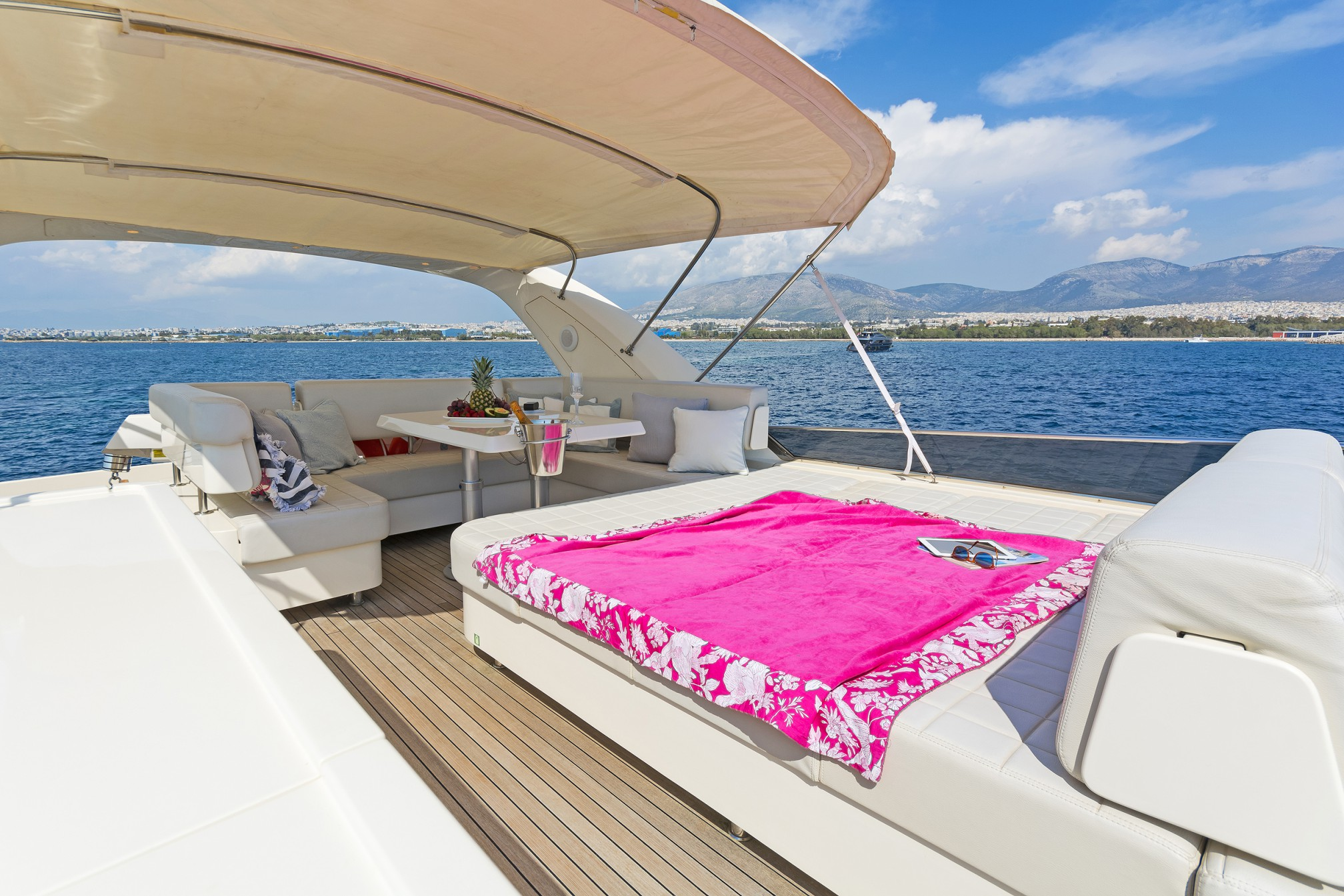 Rental yacht  outdoors
