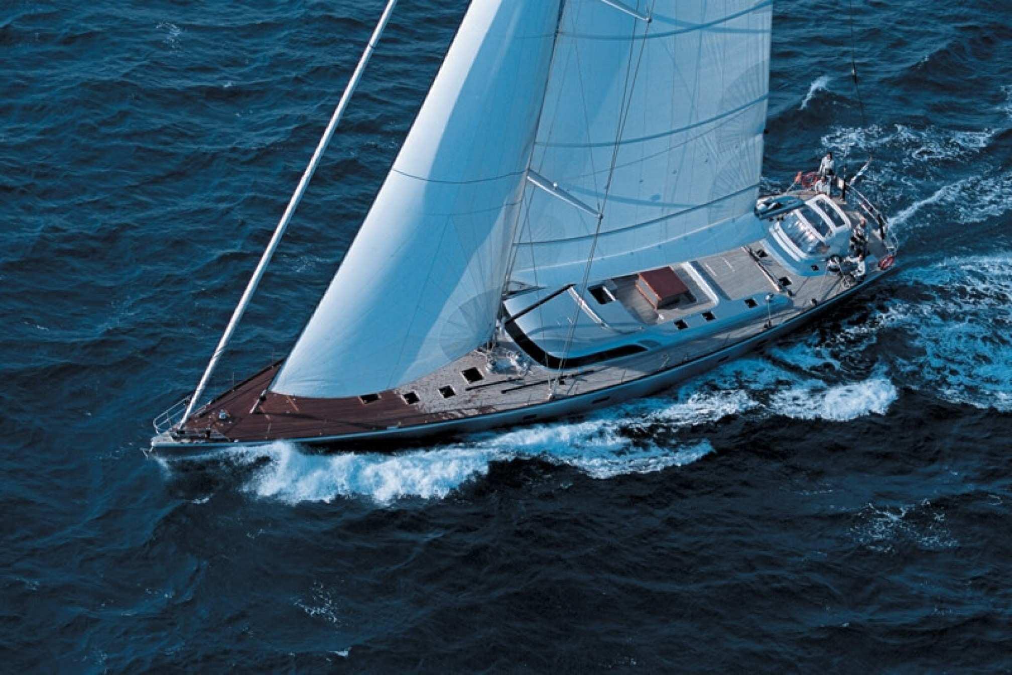 CMN 105 'Attimo' luxury sailboat charter sailing