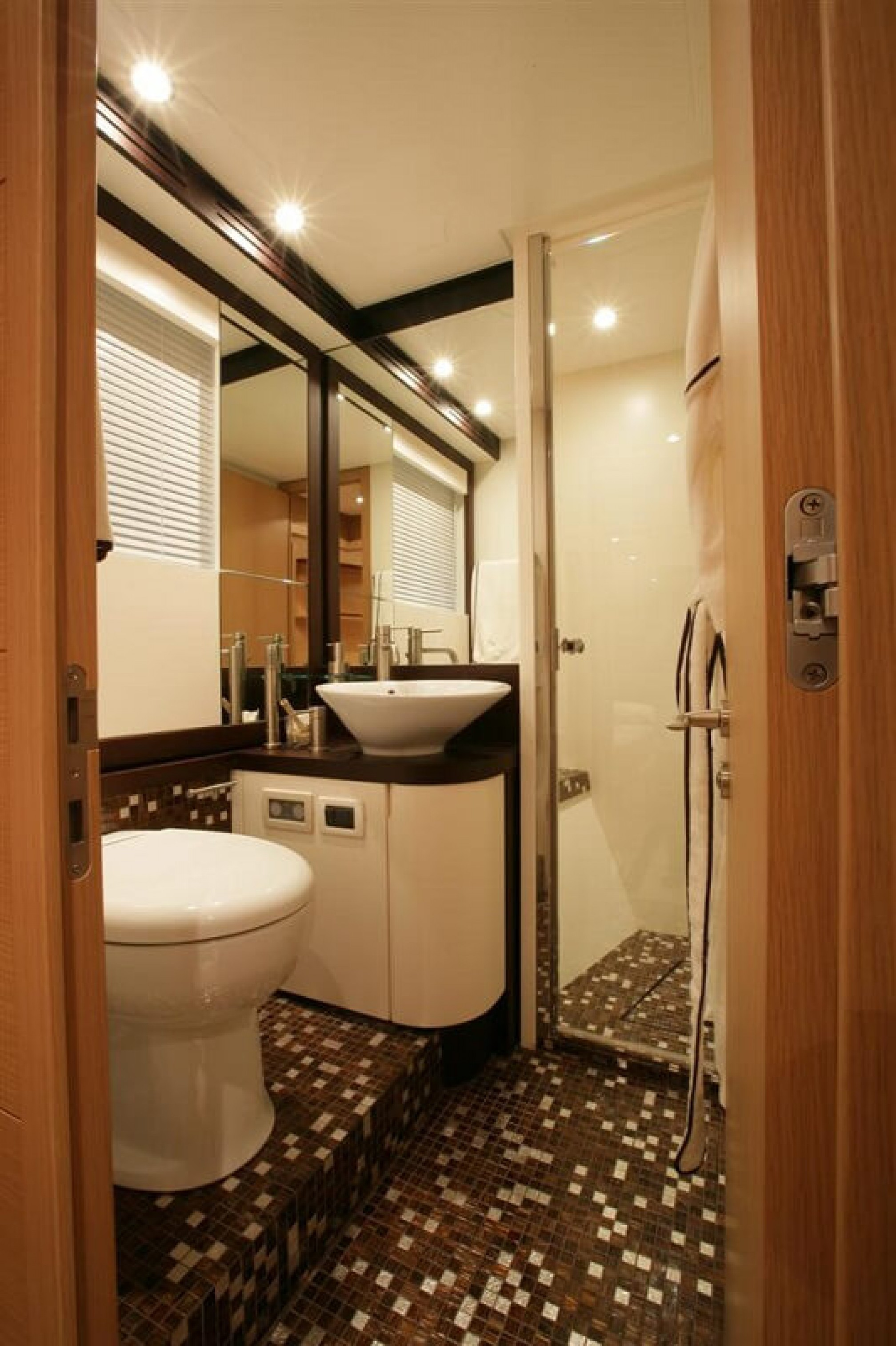 Deauville 76 Blue Angel yacht charter bath